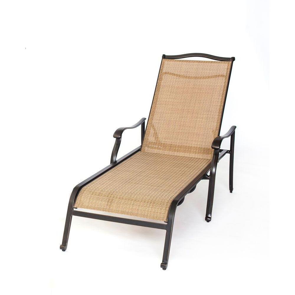 Well Liked Hanover Halsted Padded Chaises Within Monaco Patio Chaise Lounge Chair (View 16 of 25)