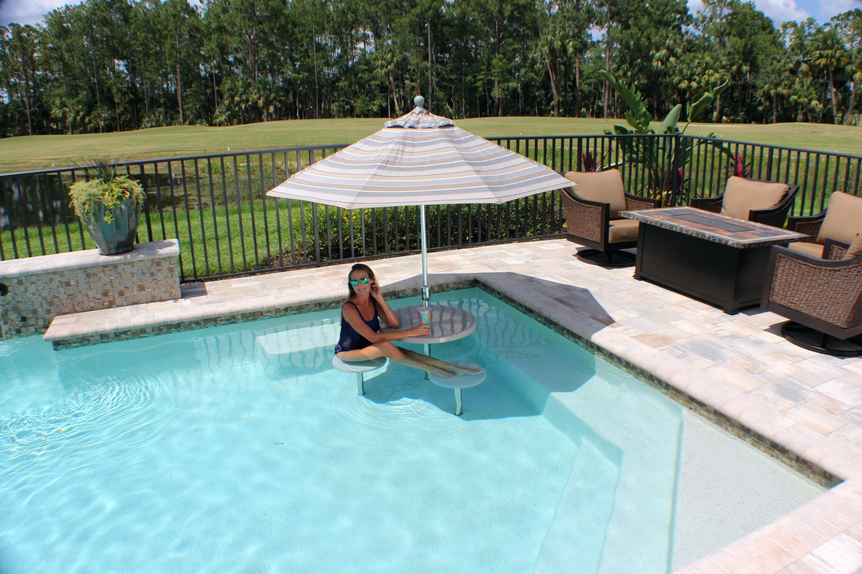 Well Liked In Water Pool Furniture Professional Salt Versus Chlorine Inside Outdoor Living Pomona Loungers (View 24 of 25)