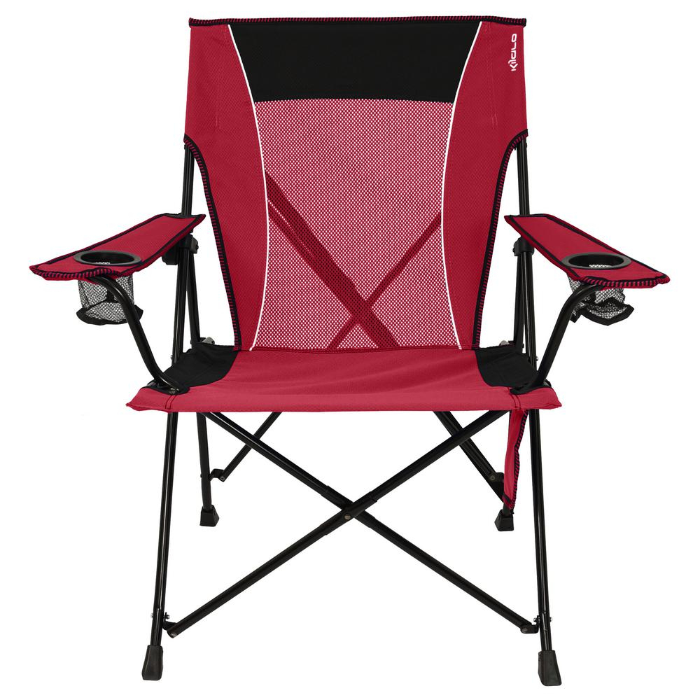 Featured Photo of Iron Frame Locking Portable Folding Chairs
