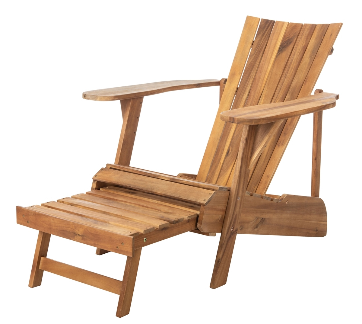 Well Liked Pat6760A Adirondack Chairs – Furnituresafavieh Intended For Adirondack Chairs With Footrest (View 25 of 25)