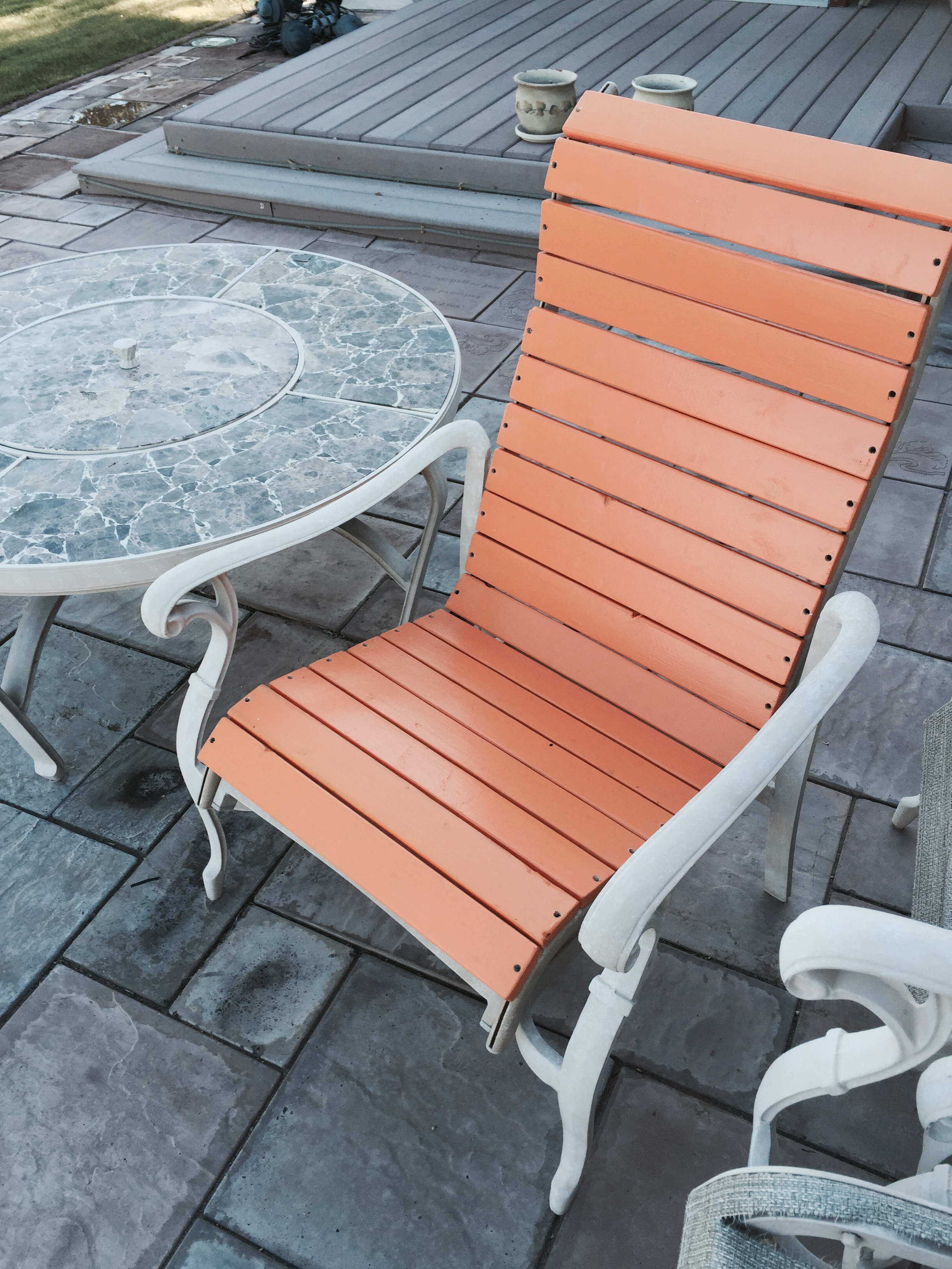 Well Liked Patio Chair Re Build: 5 Steps (with Pictures) For Canvas Patio Sling Chairs (View 16 of 25)