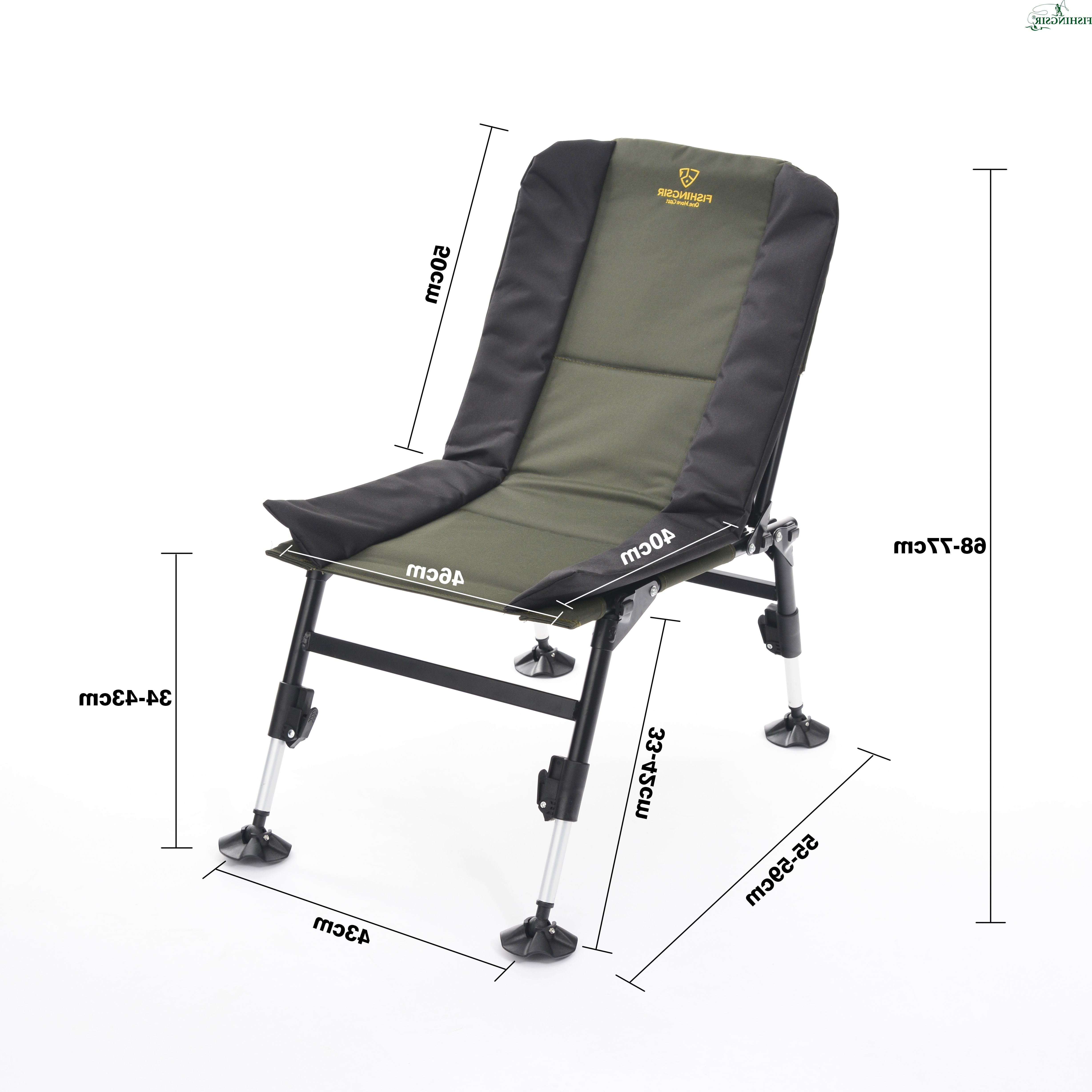 Well Liked Pin Di Fishing Chair Throughout Portable Extendable Folding Reclining Chairs (Gallery 22 of 25)