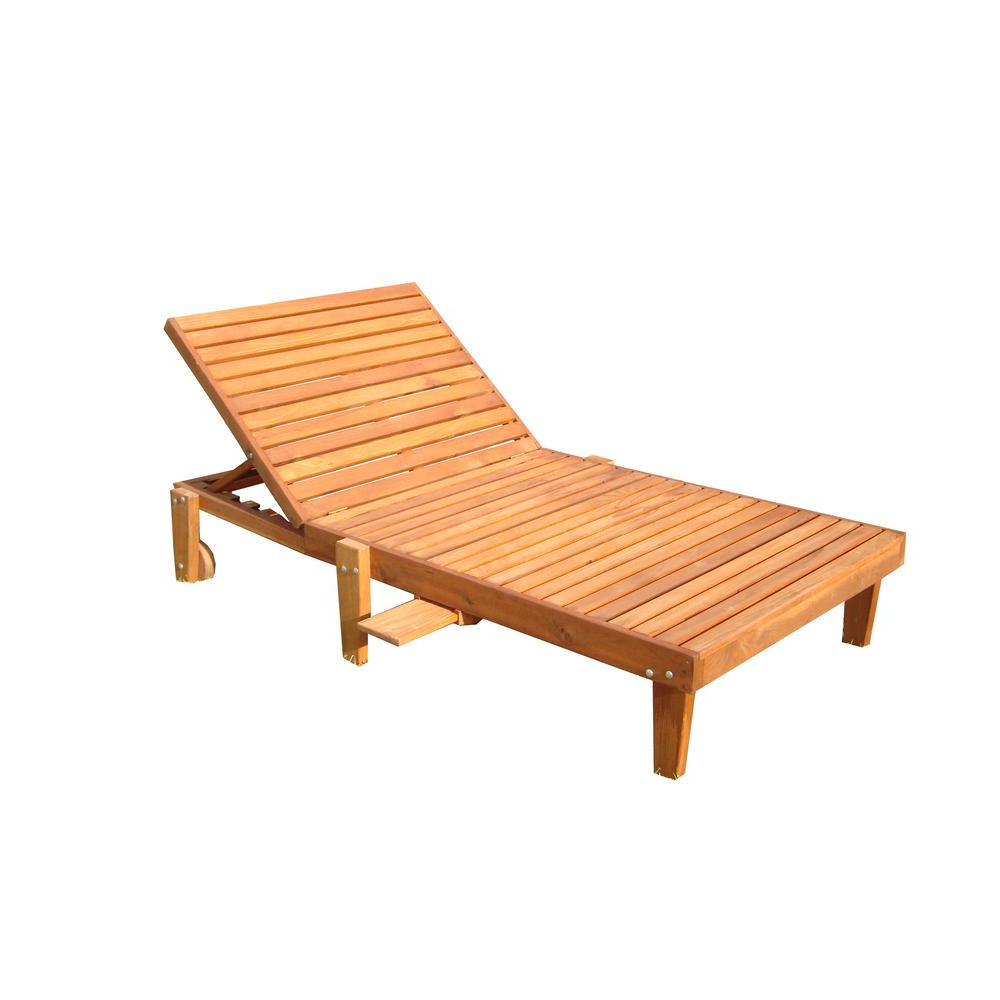 Wide Summer 1905 Super Deck Redwood Outdoor Chaise Lounge Regarding Recent Outdoor Cart Wheel Adjustable Chaise Lounge Chairs (View 21 of 25)