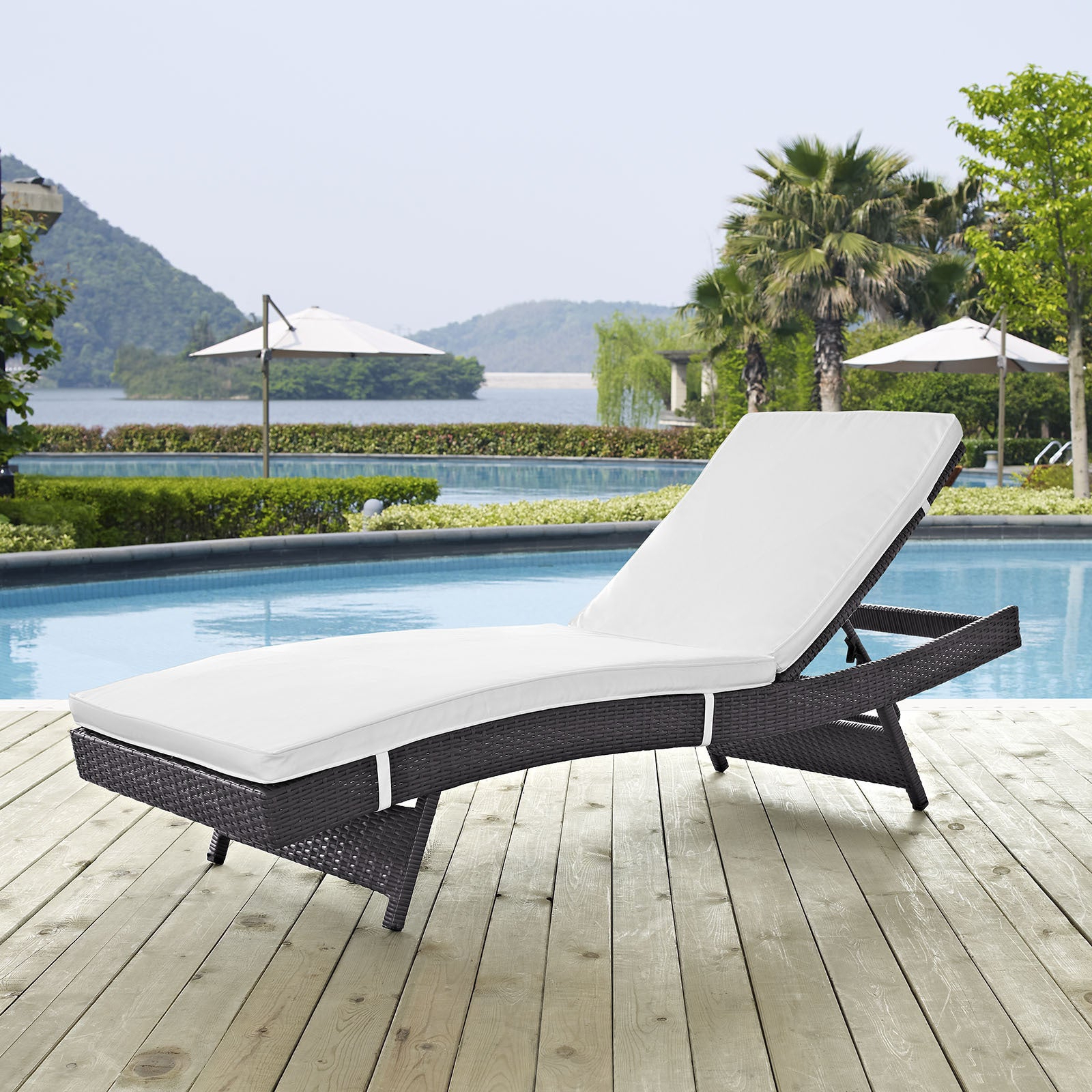 Widely Used Havenside Home Newtok Mesh Reclining Patio Loungers Pertaining To Buy Synthetic Outdoor Chaise Lounges Online At Overstock (View 9 of 25)