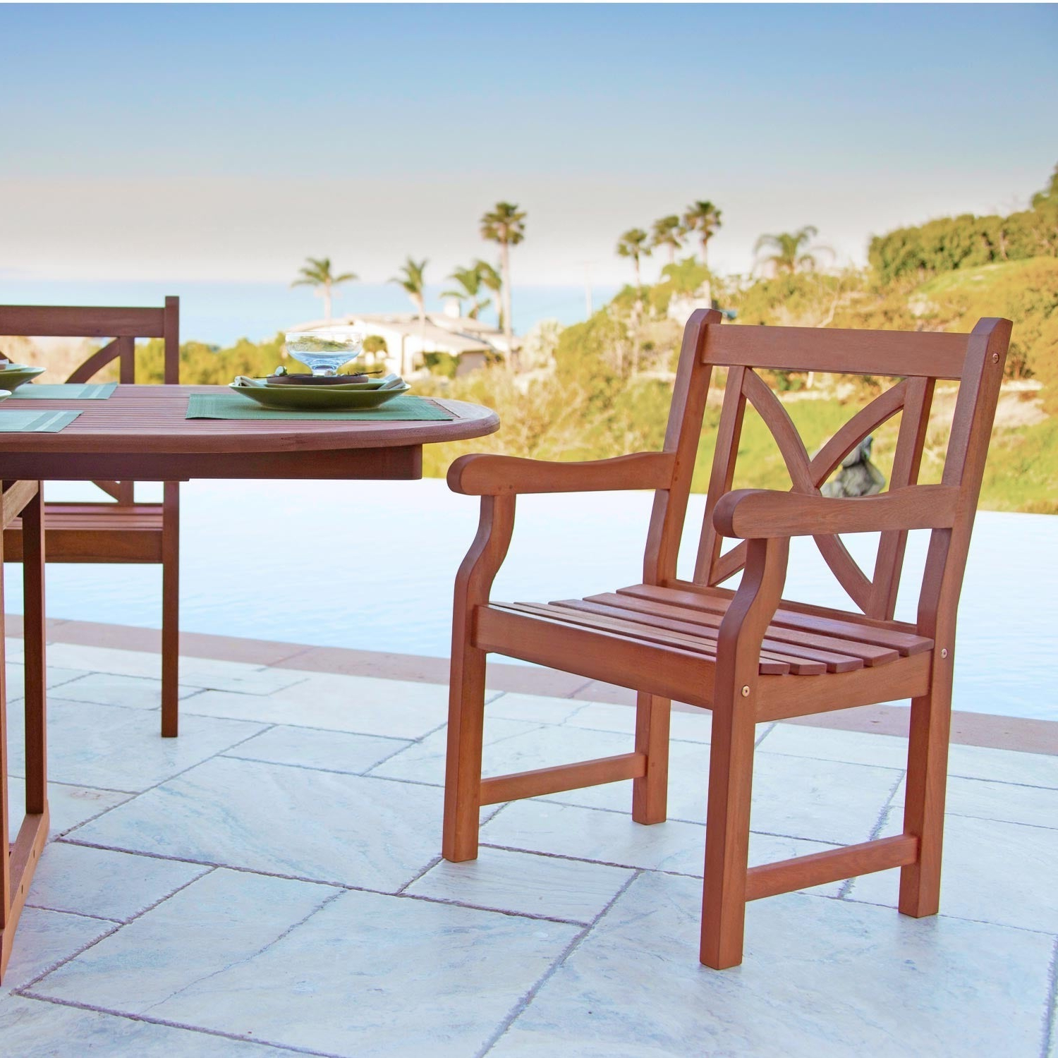 Widely Used Havenside Home Surfside Arm Chair Within Havenside Home Surfside Outdoor Lounge Chairs (View 6 of 25)