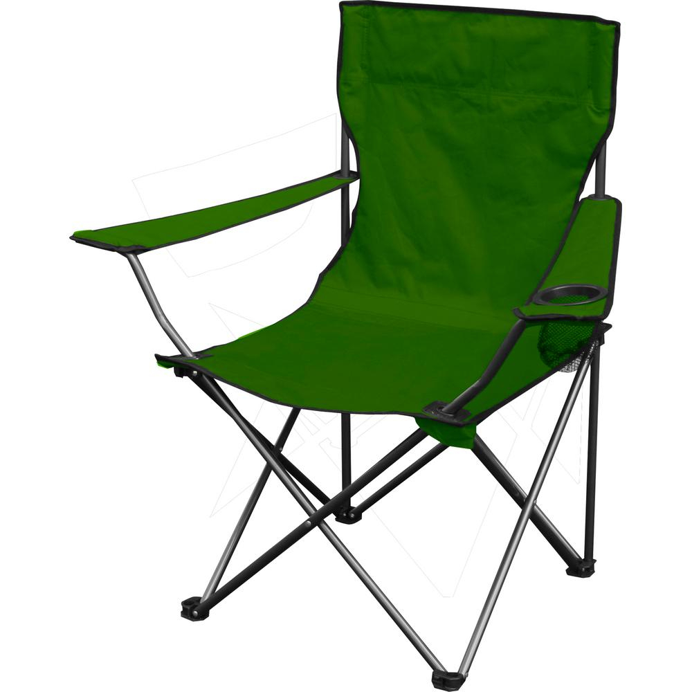 Widely Used Iron Frame Locking Portable Folding Chairs For Quik Chair Green Quik Chair Folding Chair (View 9 of 25)