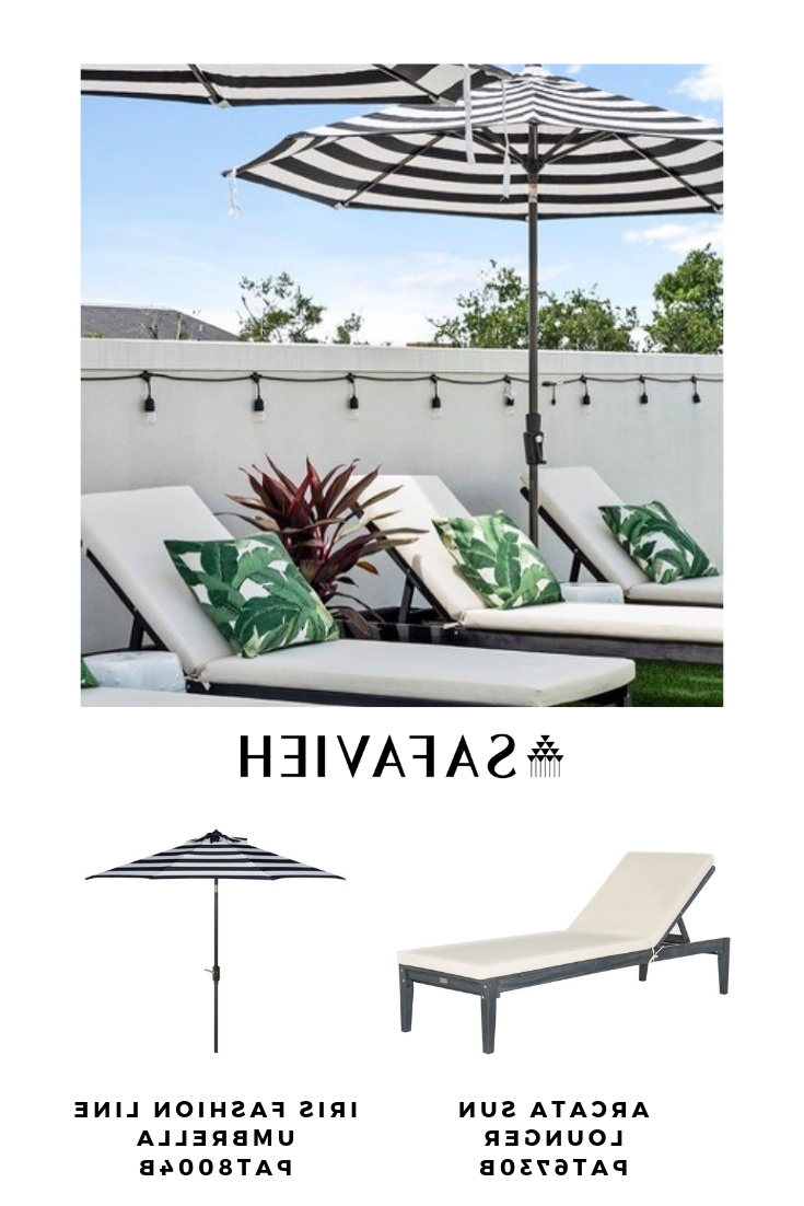 Widely Used Outdoor Living Manteca Ash Grey Acacia Wood Lounge Chairs Pertaining To Transform Any Space Into A Getaway With This Contemporary (Gallery 13 of 25)