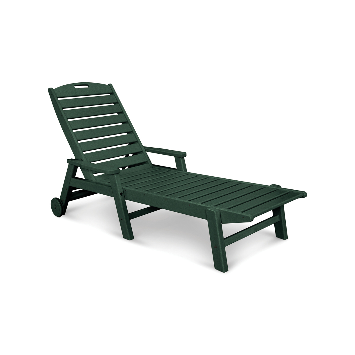 Widely Used Polywood Nautical Recycled Plastic Folding Chaise Lounge With Arms And Wheels For Plastic Chaise Lounges W/ Wheels (Gallery 6 of 25)