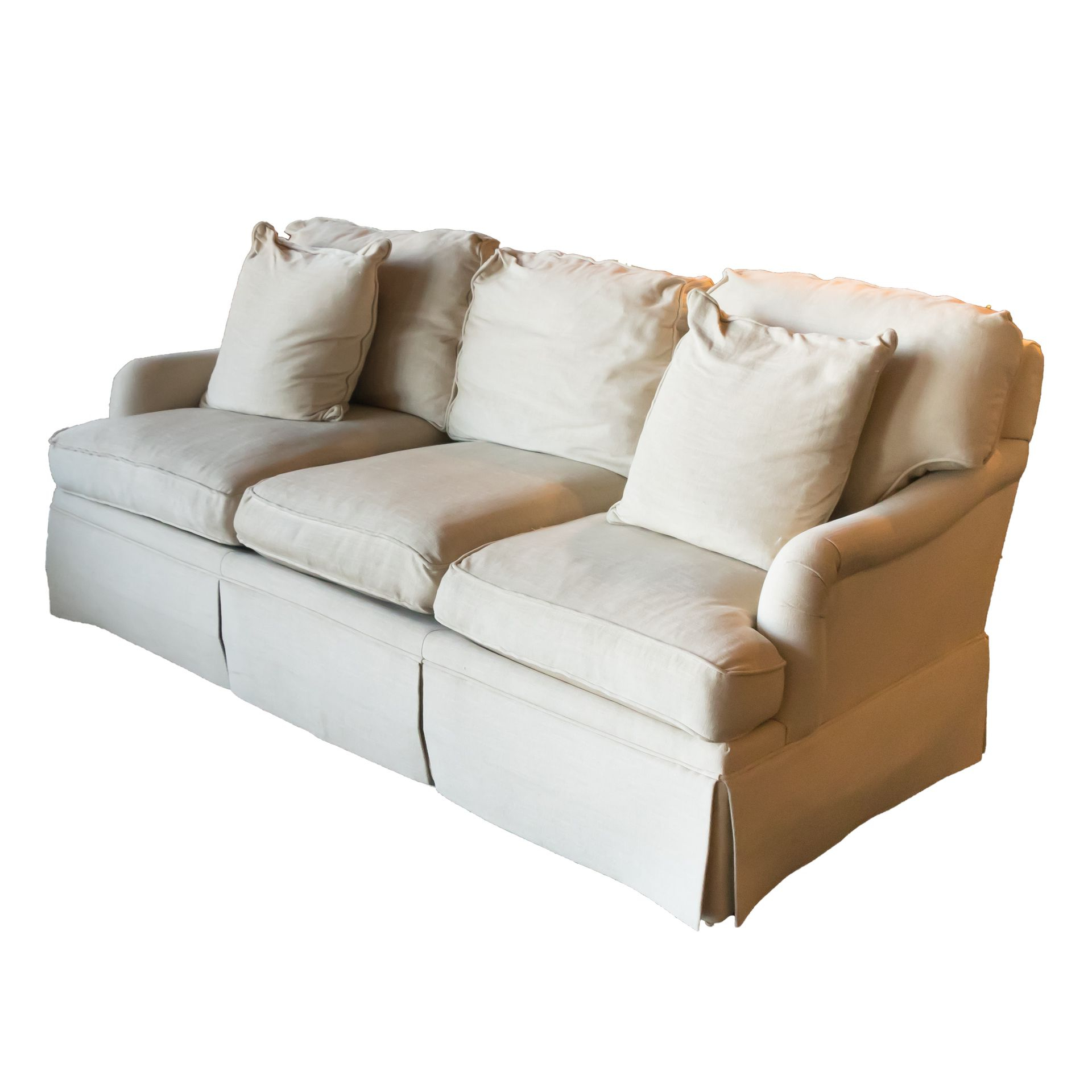 2019 Menifee Loveseats With Cushions With Regard To From Southwood Furniture, This Sofa Is Covered In A Neutral (View 22 of 25)