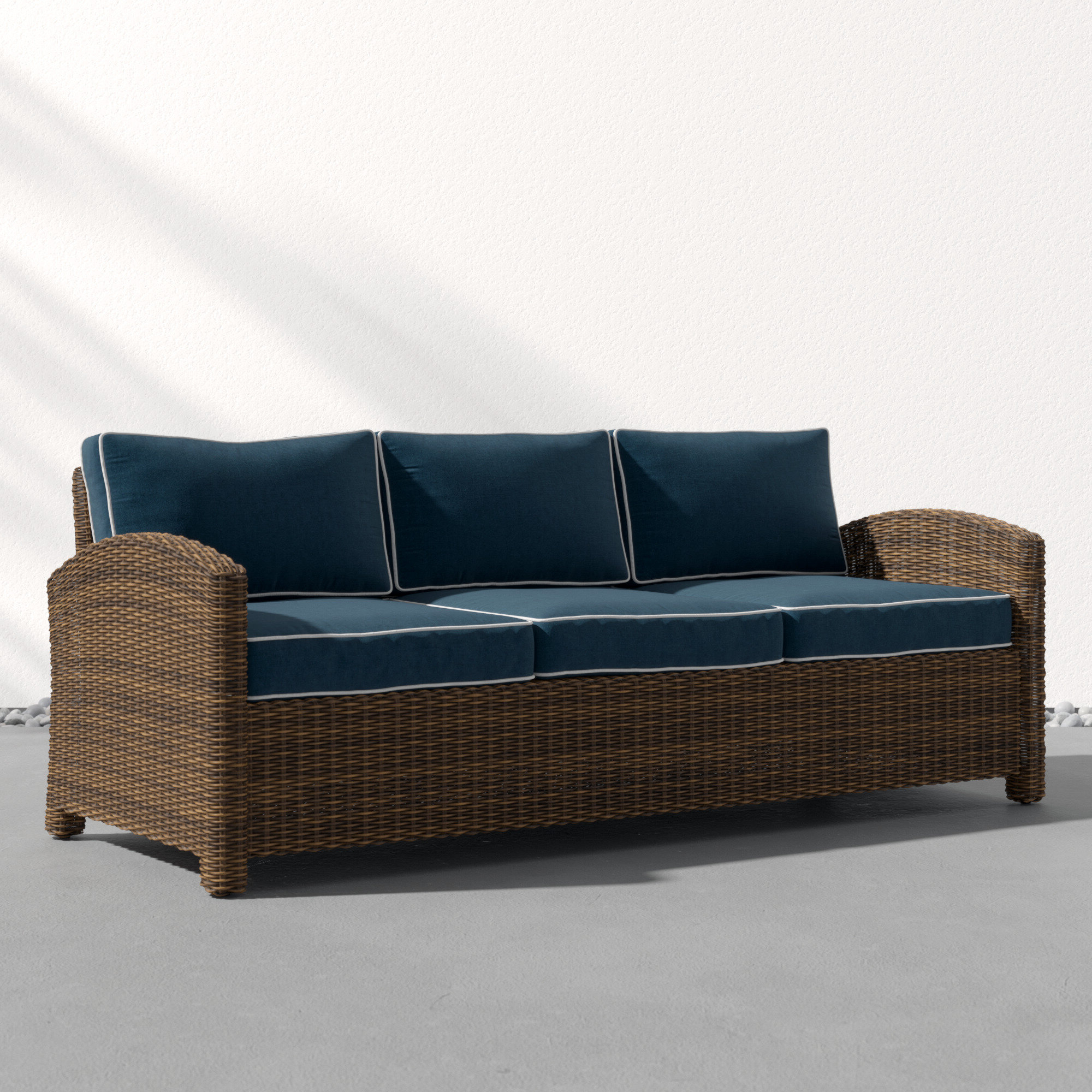 Allmodern Within Current Jamilla Teak Patio Sofas With Cushion (Gallery 17 of 25)