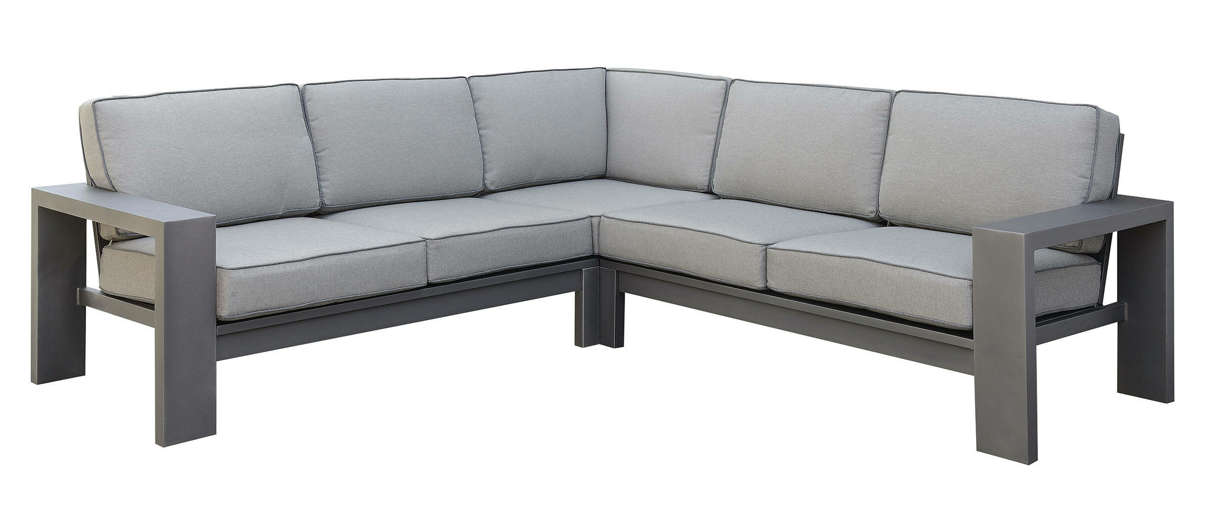 Baca Patio Sofas With Cushions With Regard To Best And Newest Ria Patio Sectional With Cushions (View 6 of 25)