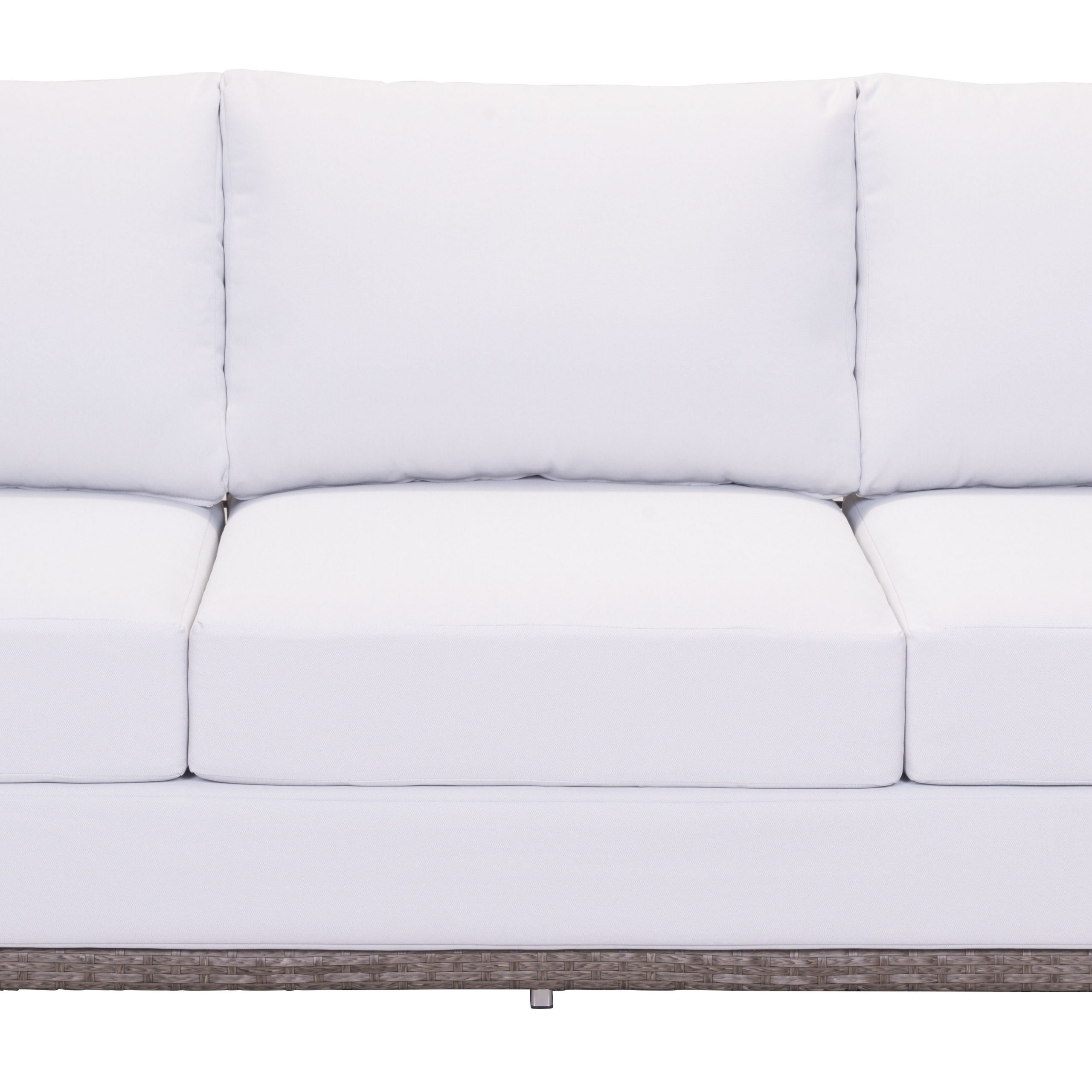 Baca Patio Sofas With Cushions Within Widely Used Baca Sofa With Cushions (View 9 of 25)