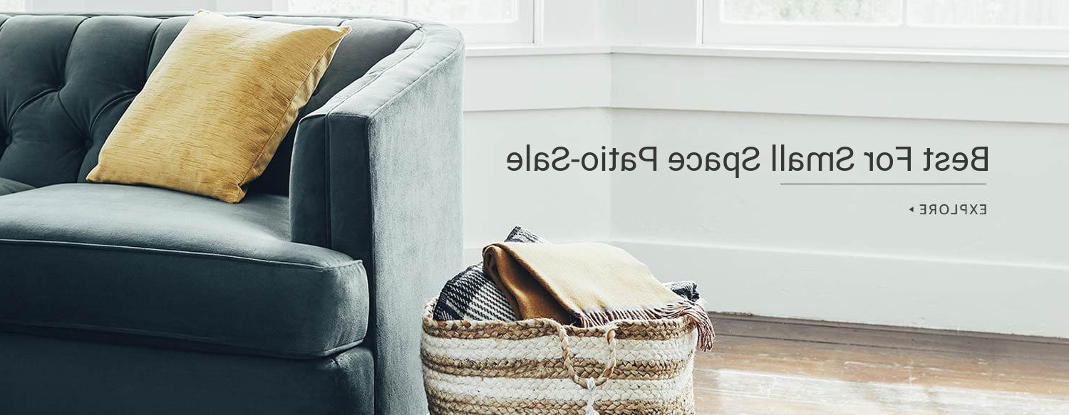 Best And Newest 12 Best Wayfair 's Small Space Patio Sale We Love 2019 Inside Tegan Patio Sofas With Cushions (View 15 of 25)
