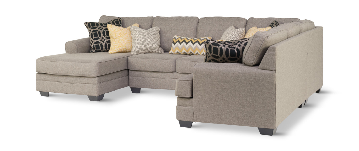 Best And Newest Carina 4 Piece Sectionals Seating Group With Cushions For City 4 Piece Modular Sectional (Gallery 21 of 25)
