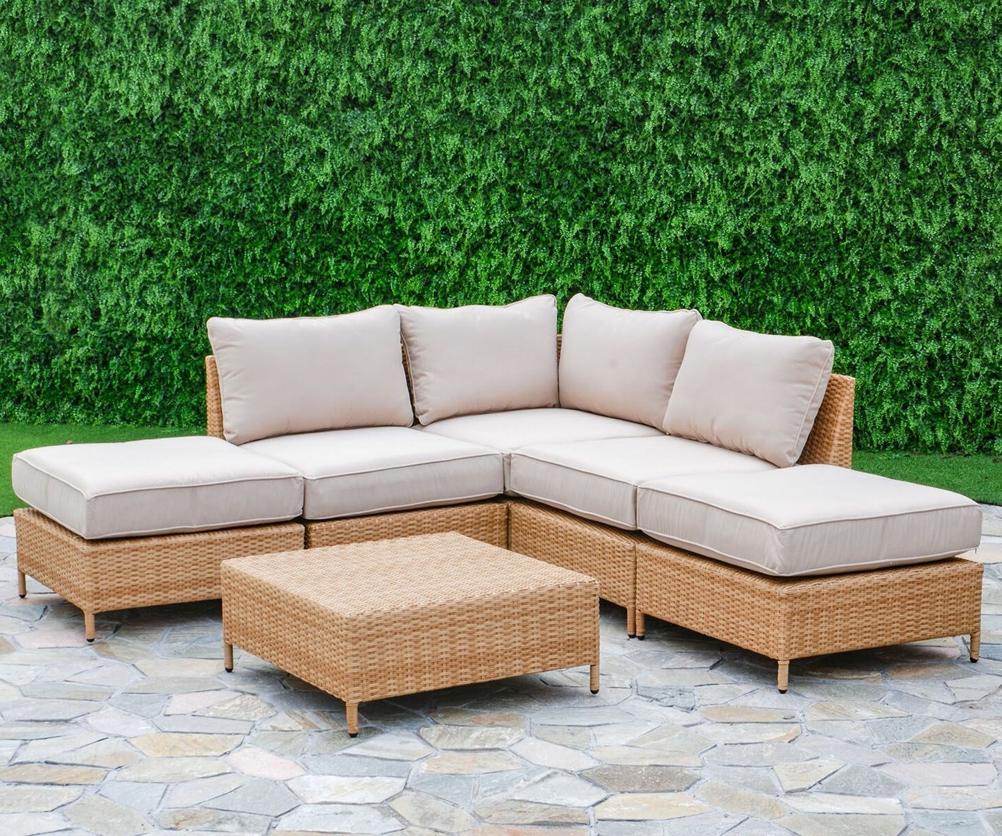 Best And Newest Olinda 3 Piece Sectionals Seating Group With Cushions Regarding Breakwater Bay Tamworth 6 Piece Sectional Seating Group With Cushions (View 9 of 25)