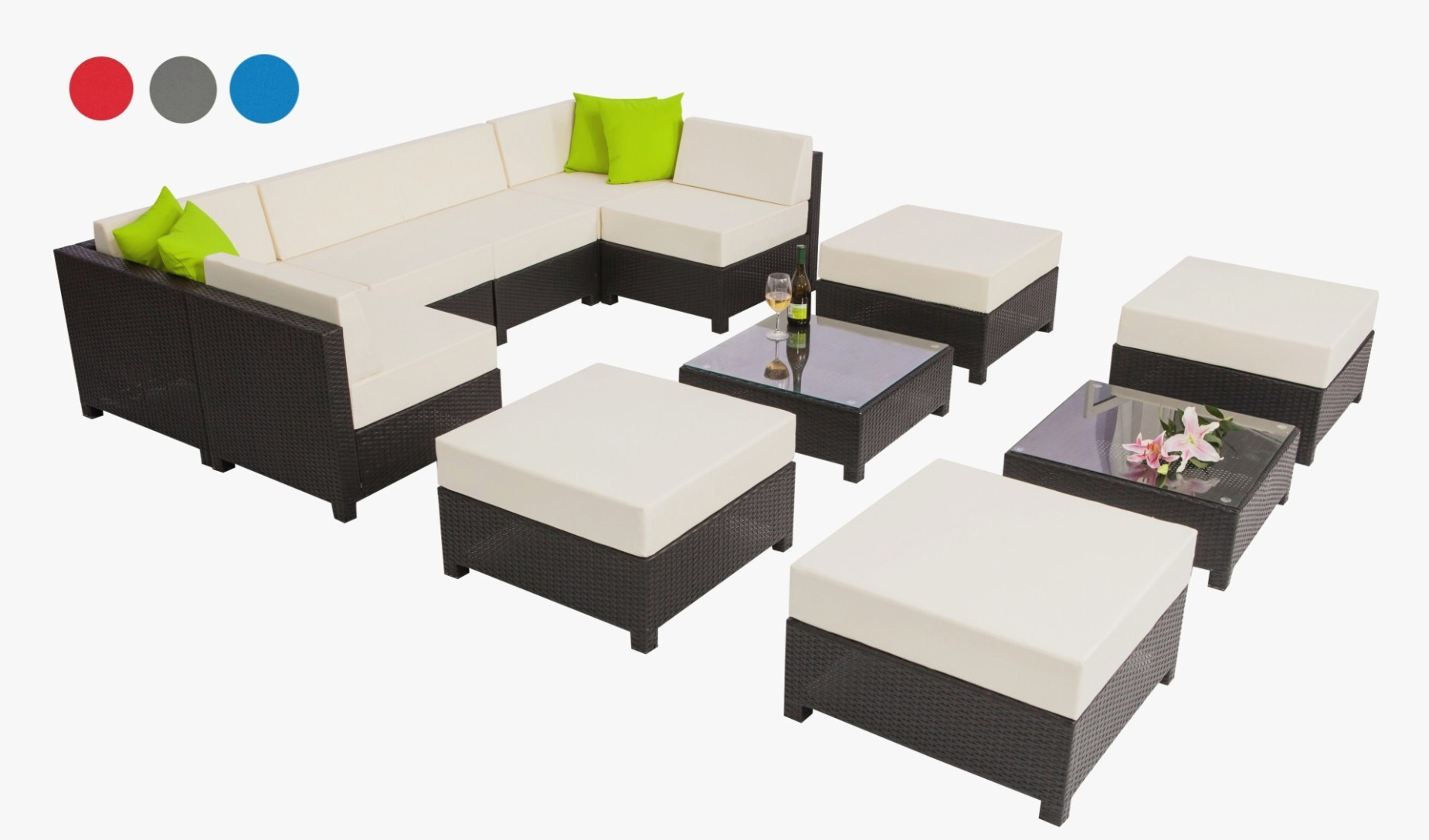 Best Concept Outdoor Patio Couches Furniture For Best And Newest Ostrowski Patio Sectionals With Cushions (View 15 of 25)