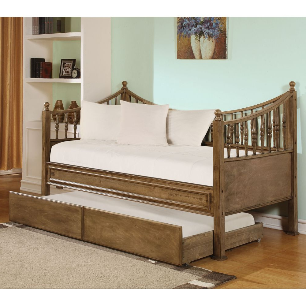 Bishop Daybeds Throughout Trendy Joshua Wood Daybedacme Furniture (Gallery 5 of 25)