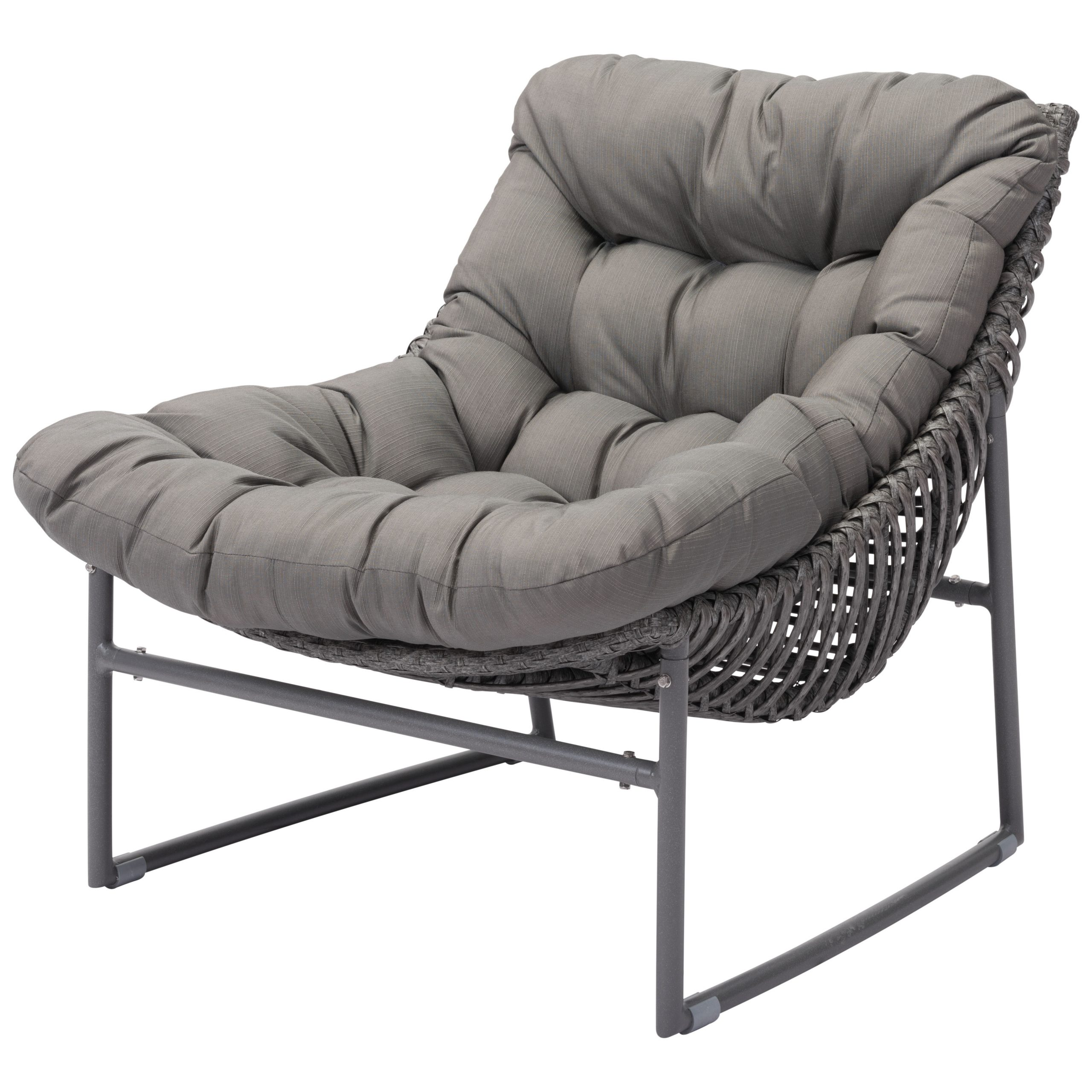 Brayden Studio Repp Beach Chair With Cushion Within Most Up To Date Repp Patio Sofas With Cushion (View 4 of 25)