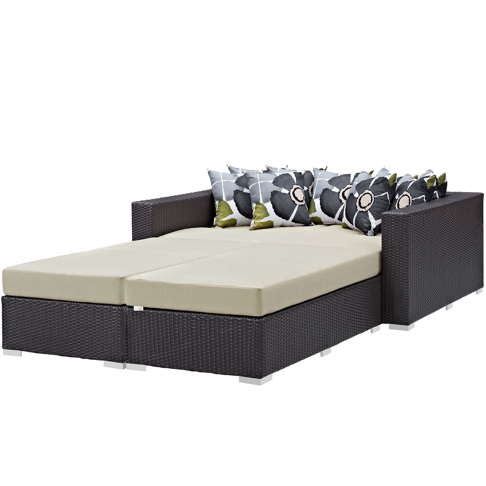 Brentwood 4 Piece Patio Daybed With Cushions Regarding Trendy Naperville Patio Daybeds With Cushion (View 22 of 25)