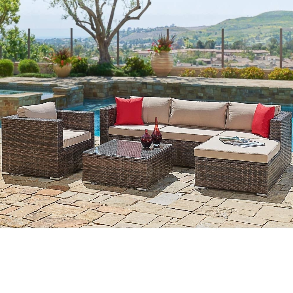 Buy Wicker Outdoor Sofas, Chairs & Sectionals Online At Regarding Recent Ostrowski Patio Sectionals With Cushions (View 16 of 25)