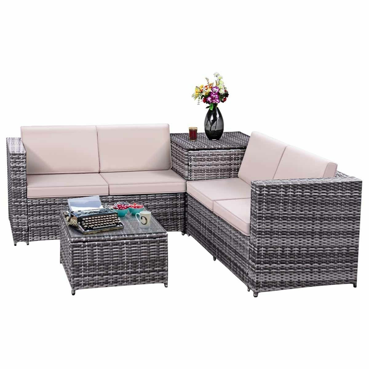 Buy Wicker Outdoor Sofas, Chairs & Sectionals Online At Within Most Popular Ostrowski Patio Sectionals With Cushions (View 25 of 25)