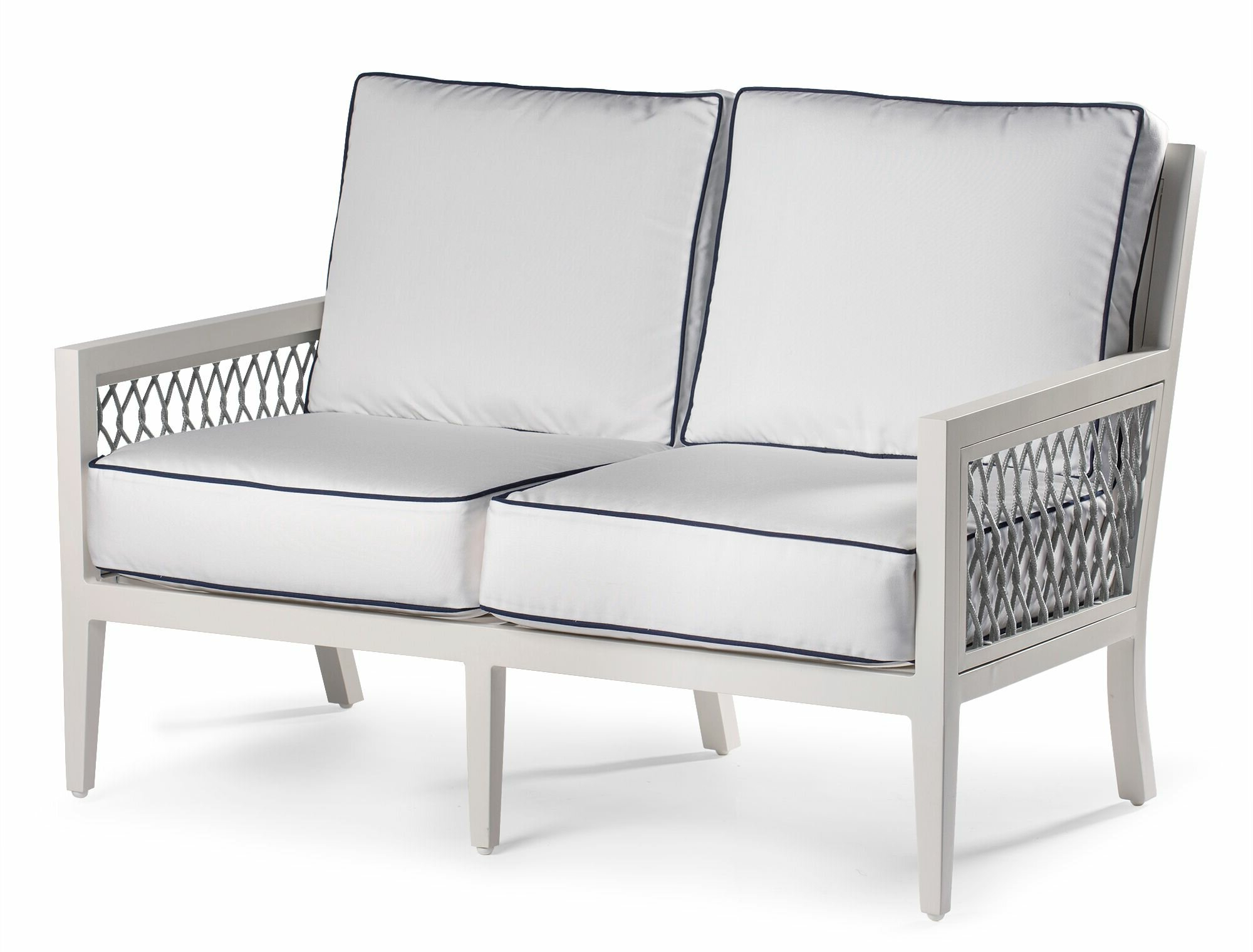 Current Eddie Bauer Echo Bay Loveseat With Sunbrella Cushions (View 6 of 25)