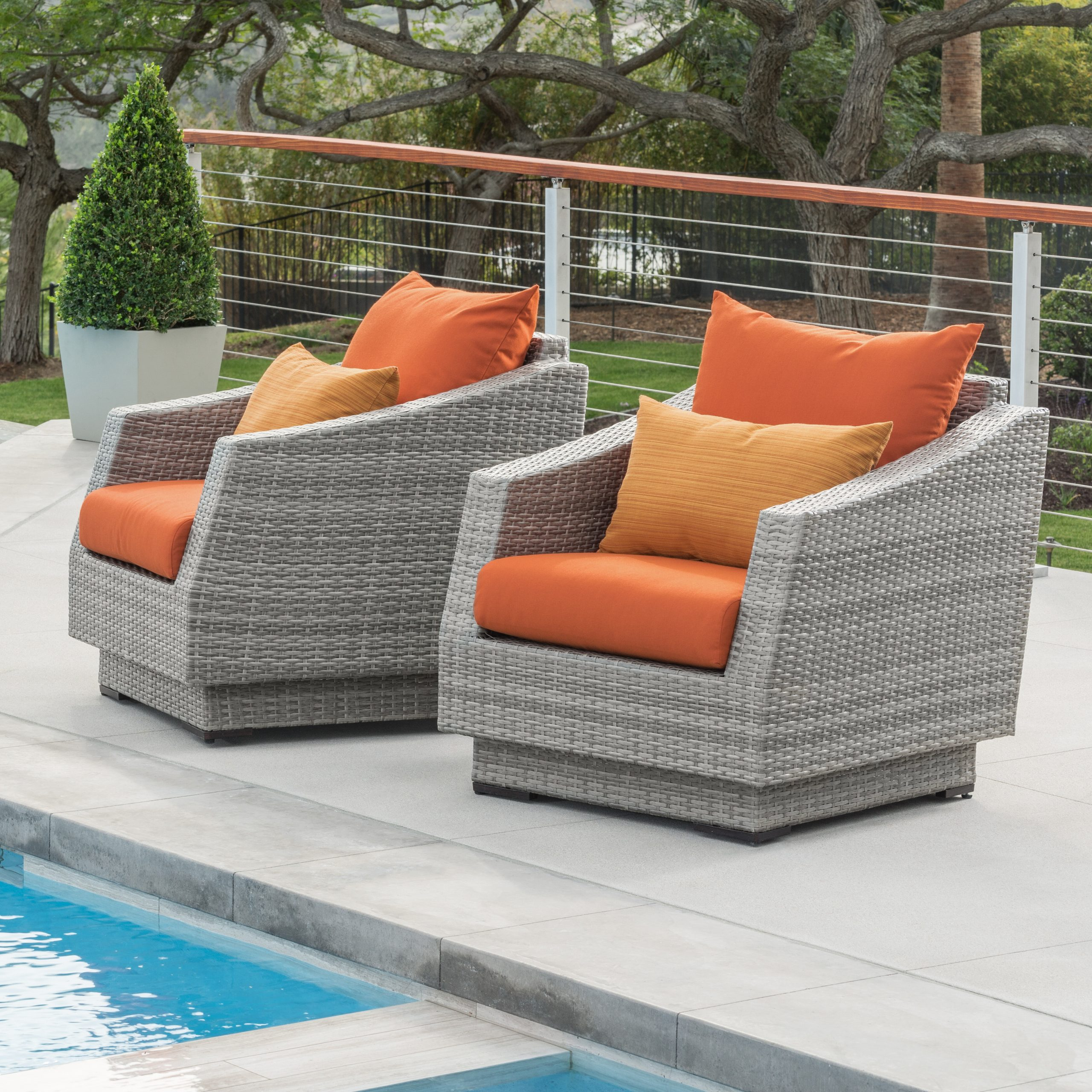 Current Kincaid Teak Patio Sofas With Sunbrella Cushions With Castelli Patio Chair With Sunbrella Cushions (View 8 of 25)