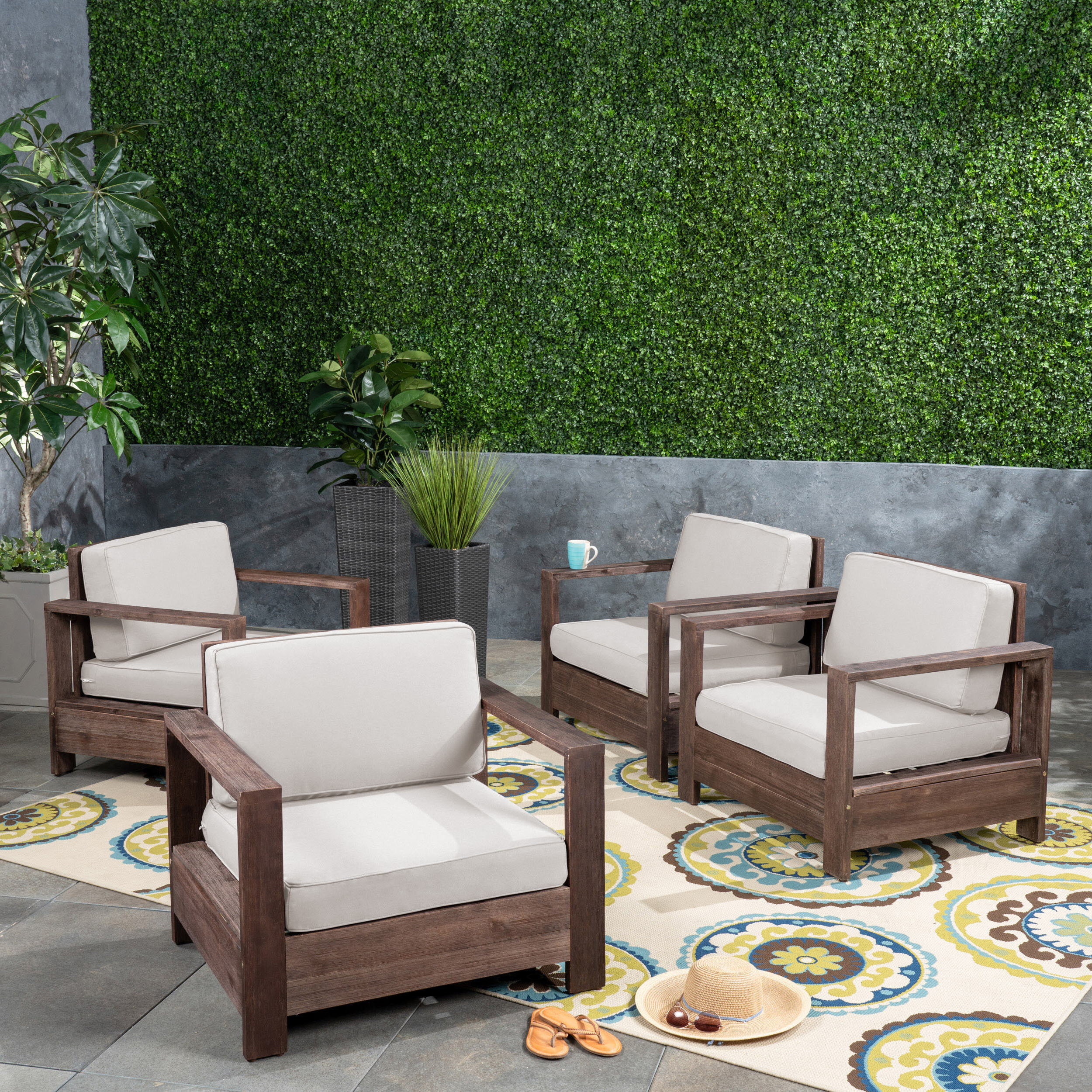 Current Landis Loveseats With Cushions Intended For Landis Patio Chair With Cushions (View 10 of 25)