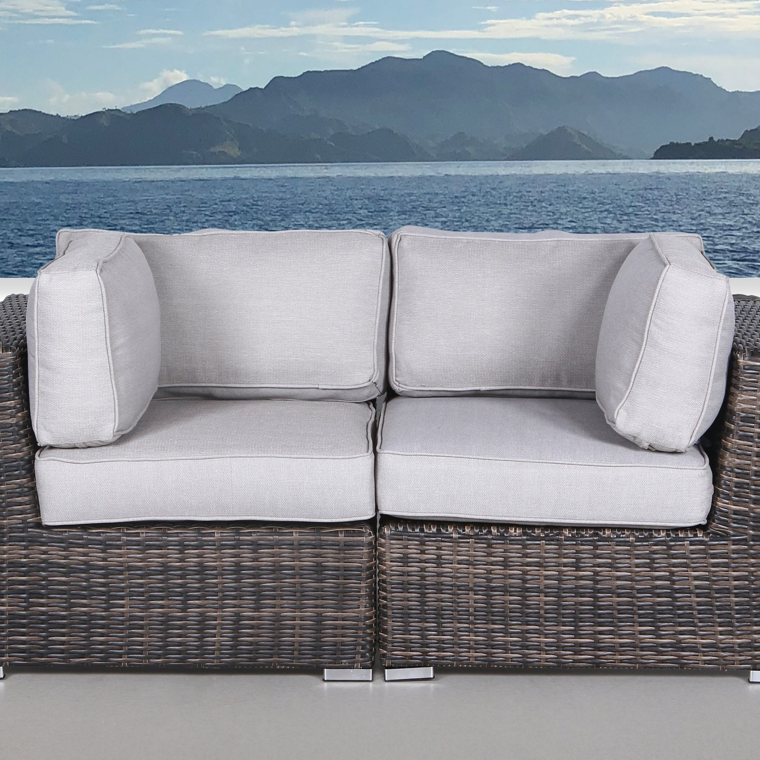 Featured Photo of Dayse Contemporary Loveseats with Cushion