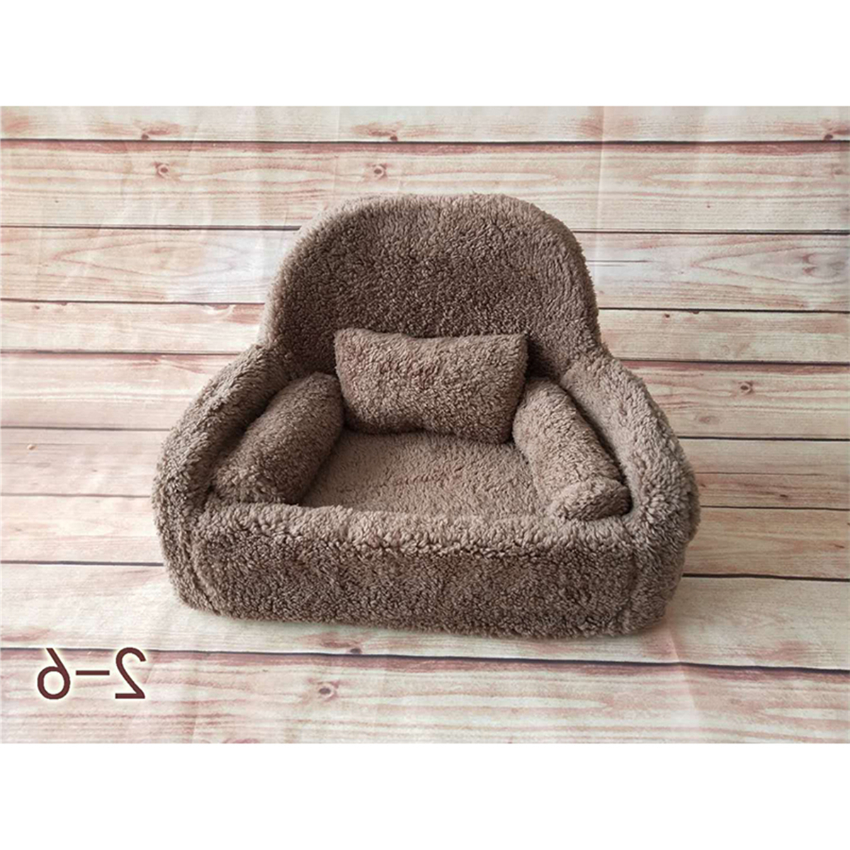 Details Zu Newborn Baby Photo Props Small Sofa Seat With 3 Cushions Photography Pose Shoot With Fashionable Tripp Sofas With Cushions (View 22 of 25)