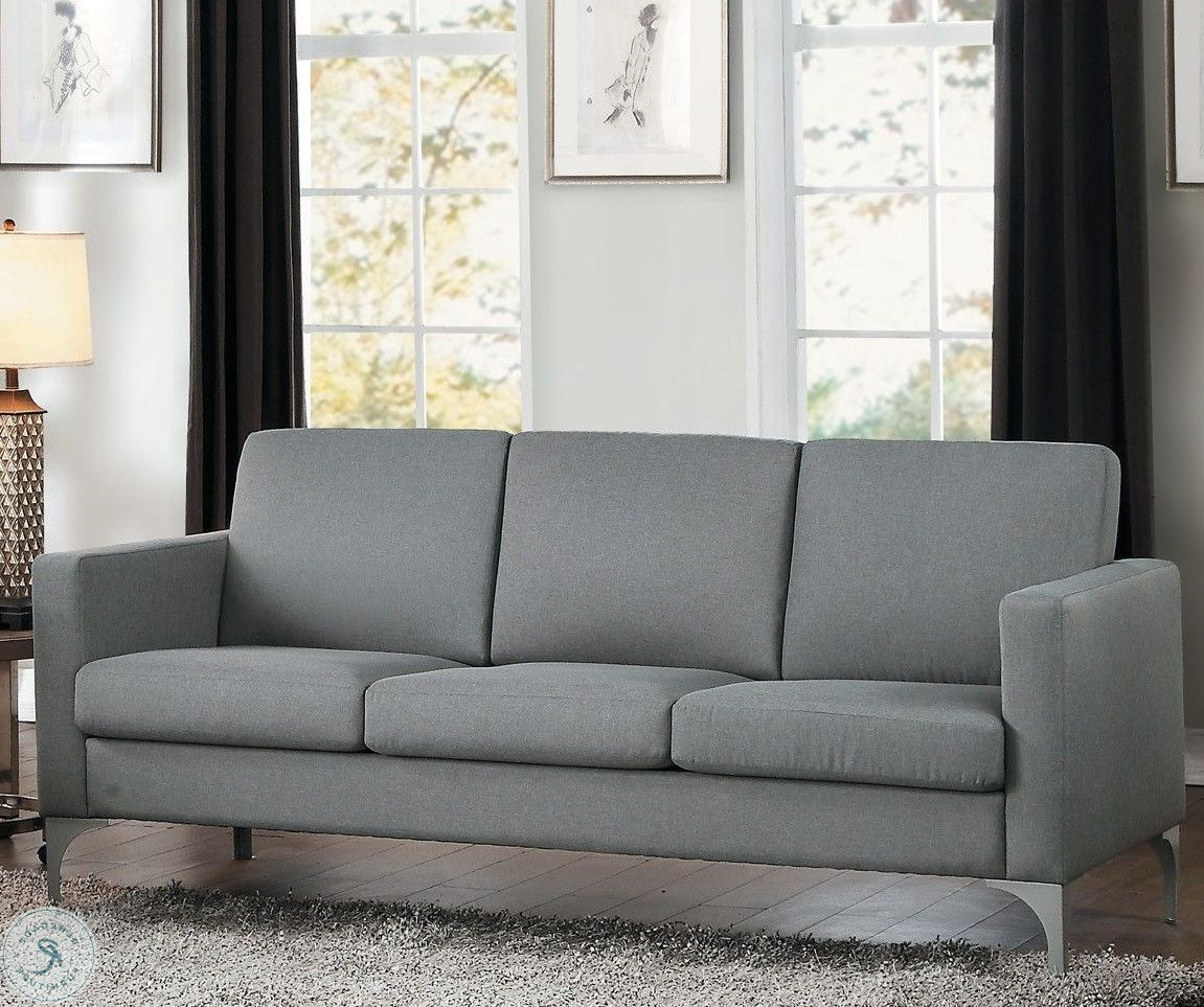 Dowling Patio Daybeds With Cushion In Trendy Soho Gray Living Room Set (View 24 of 25)