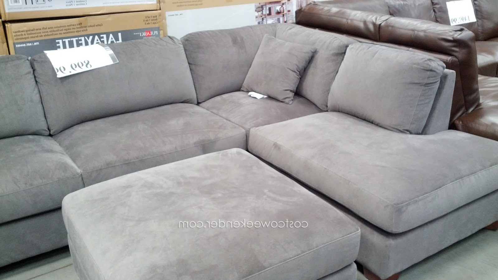 Emerald Home Furnishings Bianca 3 Piece Sectional Set Inside Preferred Jimmie 3 Piece Sectionals Seating Group With Cushions (View 6 of 25)