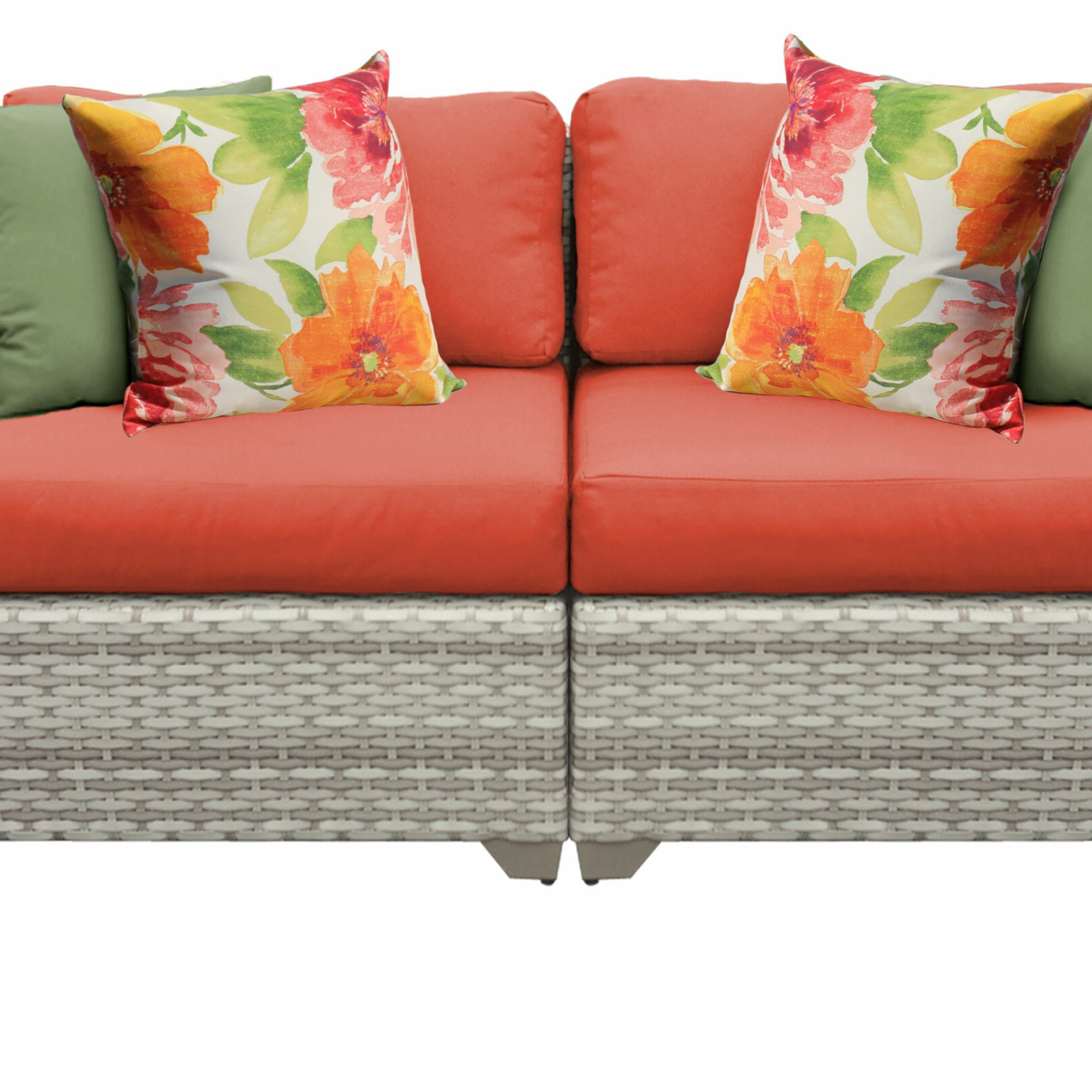 Falmouth Loveseat With Cushions Pertaining To Widely Used Kari Loveseats With Sunbrella Cushions (View 16 of 25)