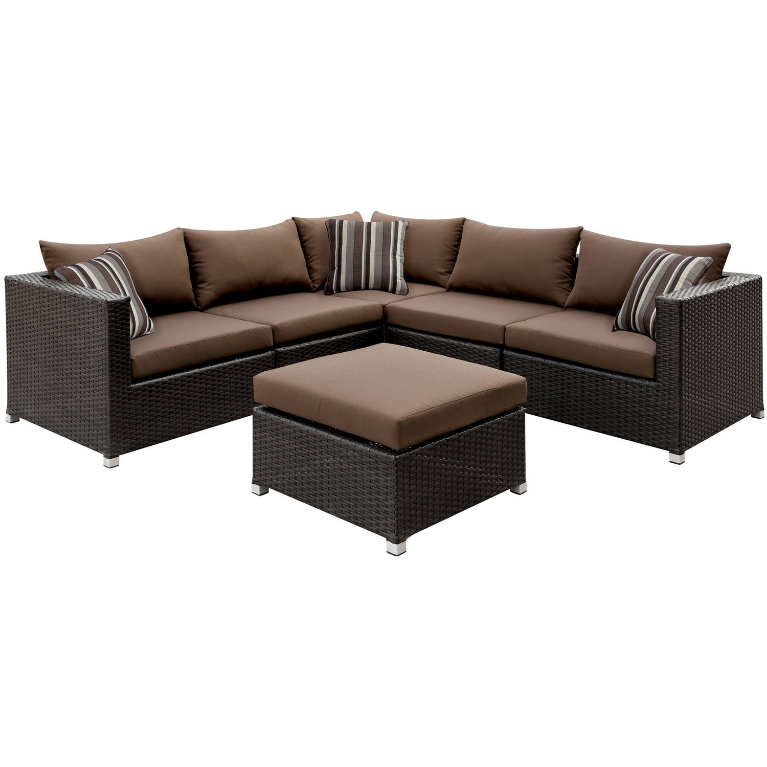 Featured Photo of Baca Patio Sofas With Cushions