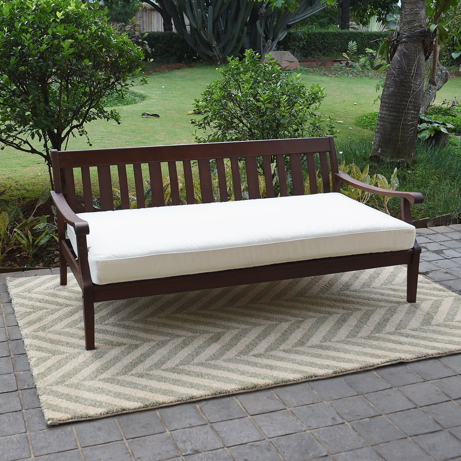 Famous Furniture: Cool Patio Daybed With Alluring Cushions For In Dowling Patio Daybeds With Cushion (View 8 of 25)