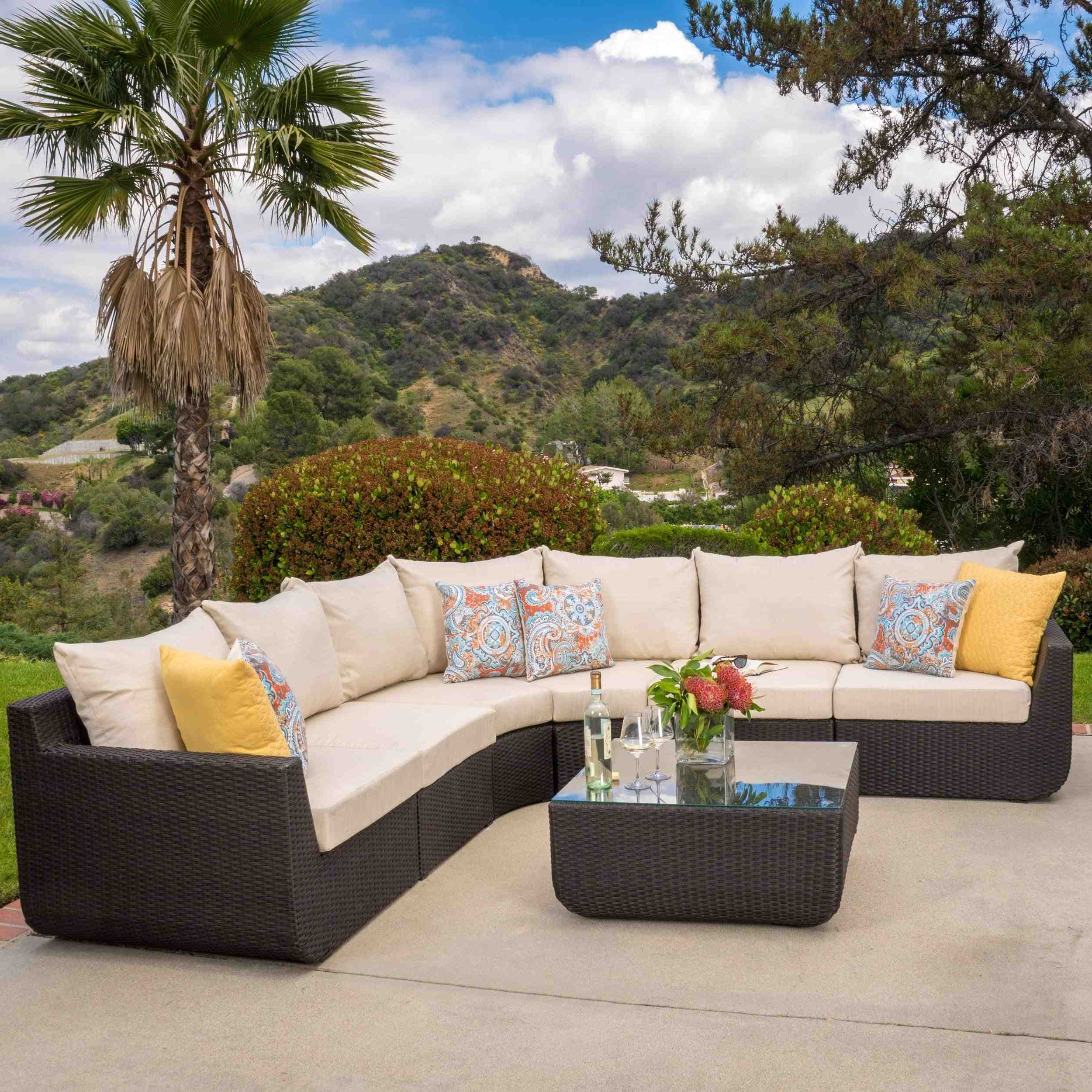 Fashionable Lawson Patio Sofas With Cushions In Surprising Sectional Replacement Cushions Corner Adorable (View 24 of 25)