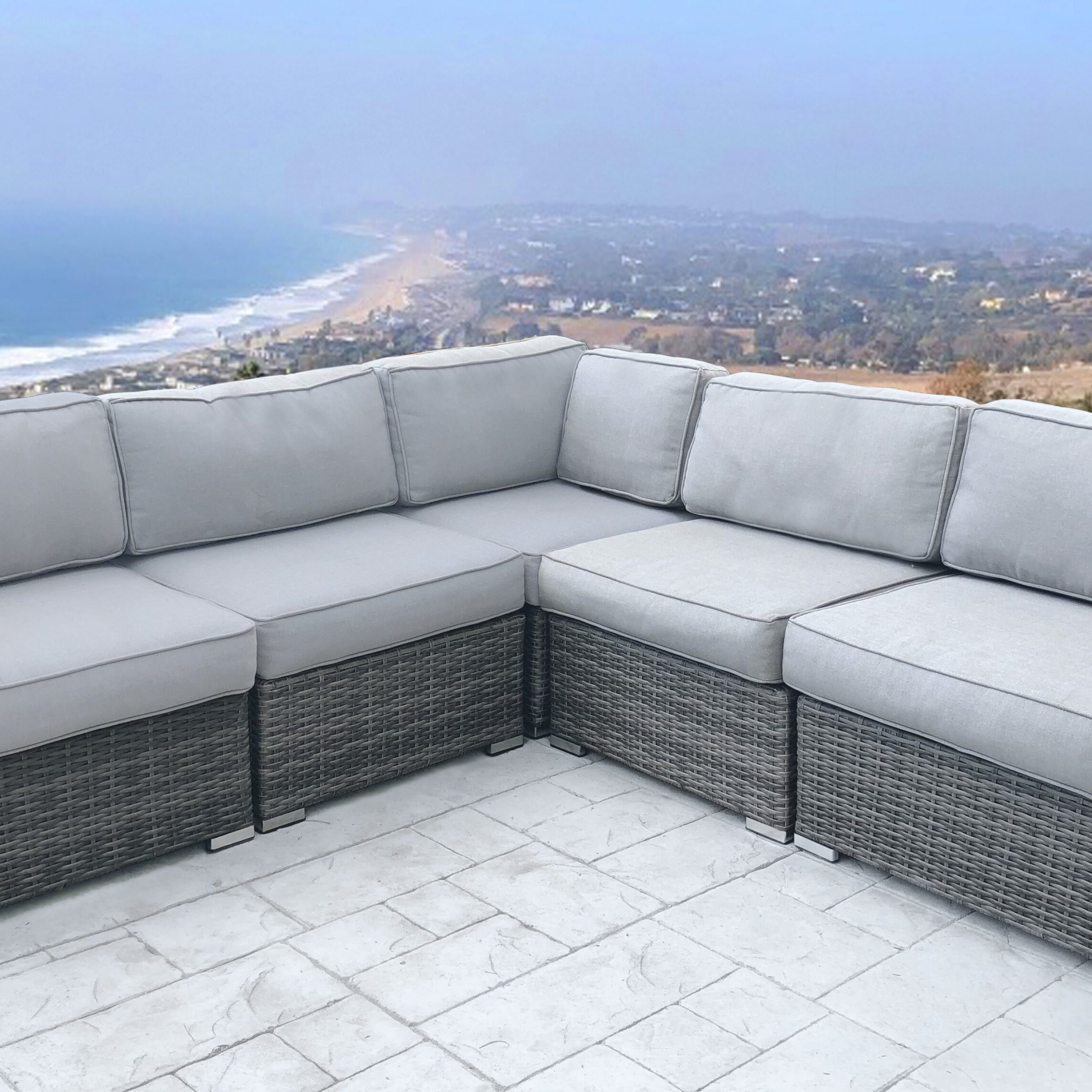 Favorite Eldora Patio Sectionals With Cushions With Regard To Eldora Patio Sectional With Cushions (View 2 of 25)