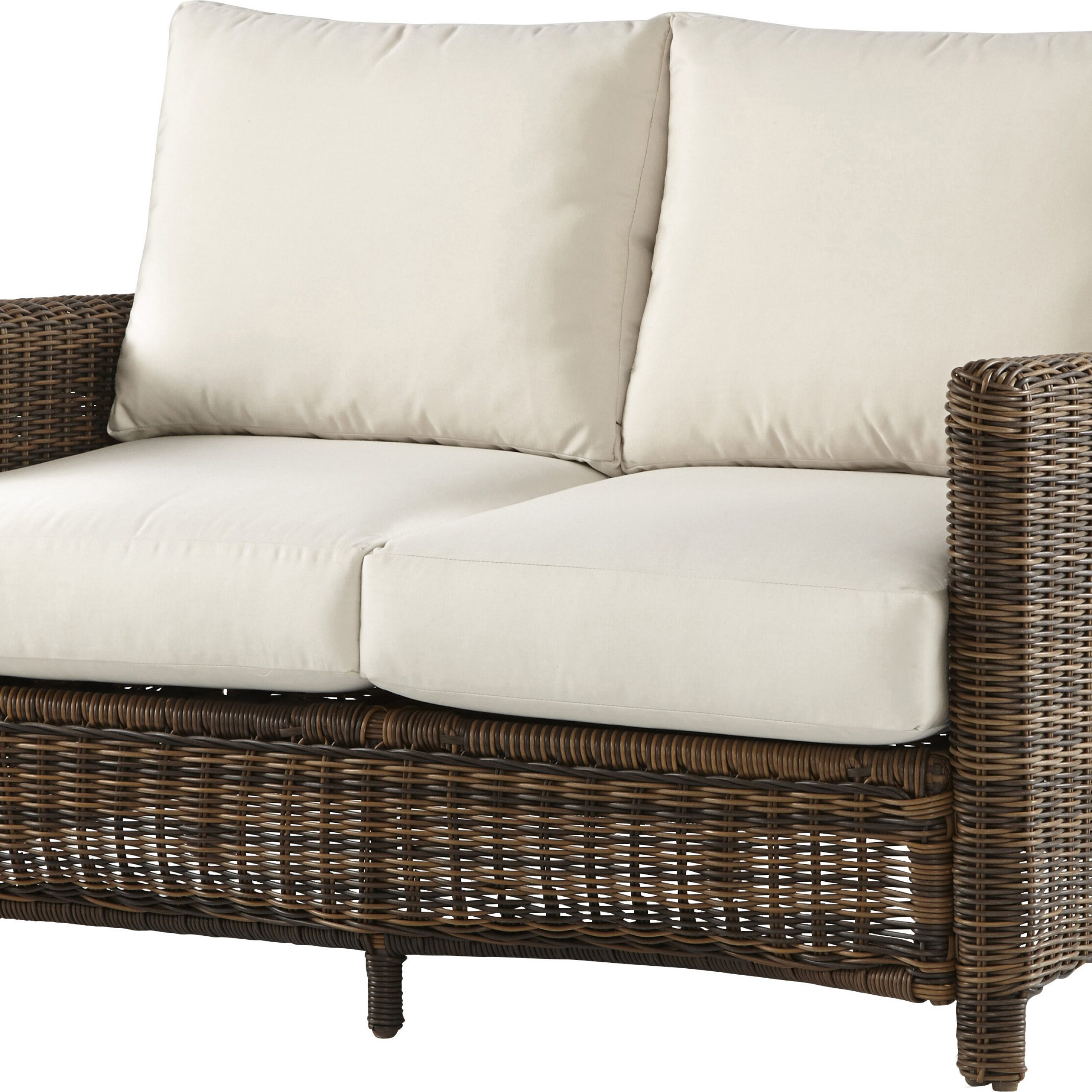 Favorite Saleem Loveseats With Cushions Throughout Spring Del Ray Loveseat With Cushions (View 6 of 25)