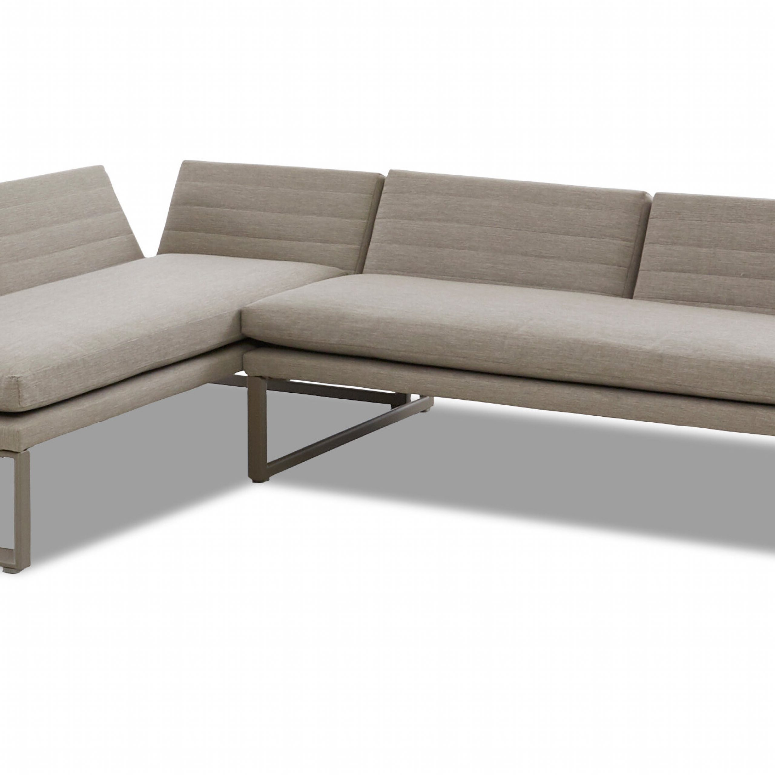 Hetton Patio Sectional With Sunbrella Cushions For Latest Brecht Patio Sectionals With Cushions (View 7 of 25)