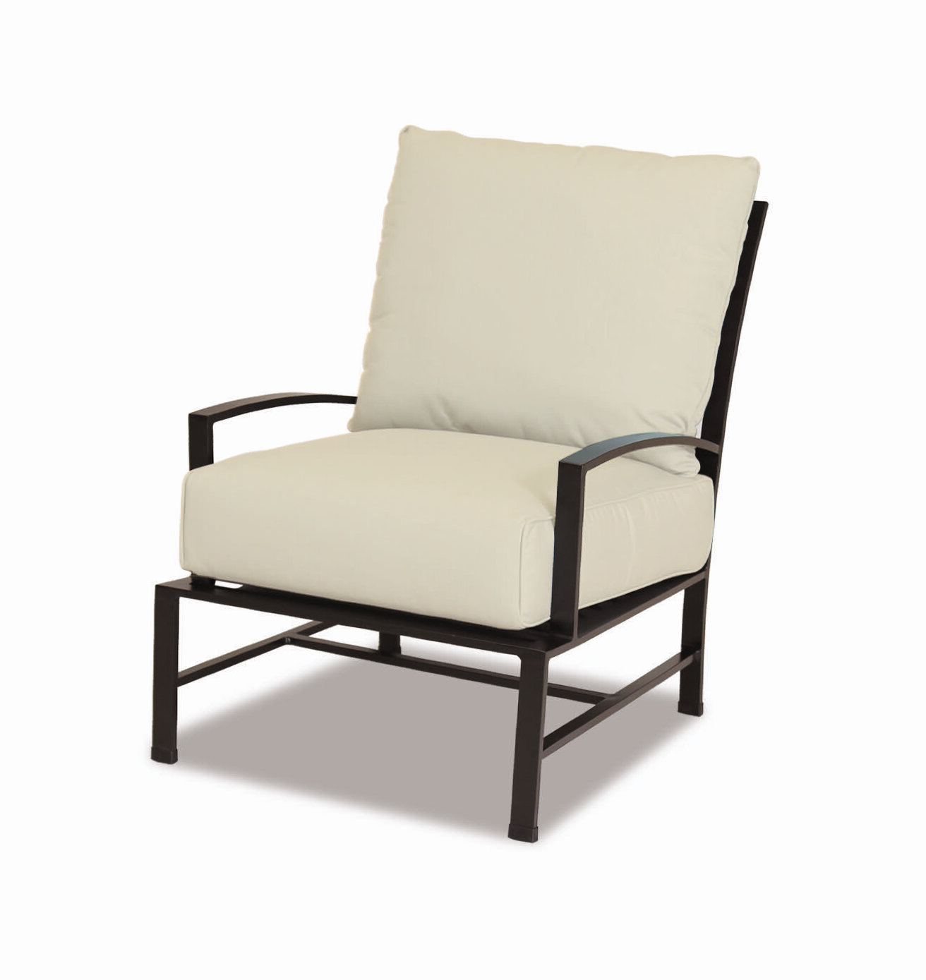 Ivy Bronx Zeman Ultra Comfortable Upholstered Anodized Regarding Fashionable Zeman Ultra Comfortable Upholstered Anodized Aluminum Loveseats With Cushion (View 8 of 25)