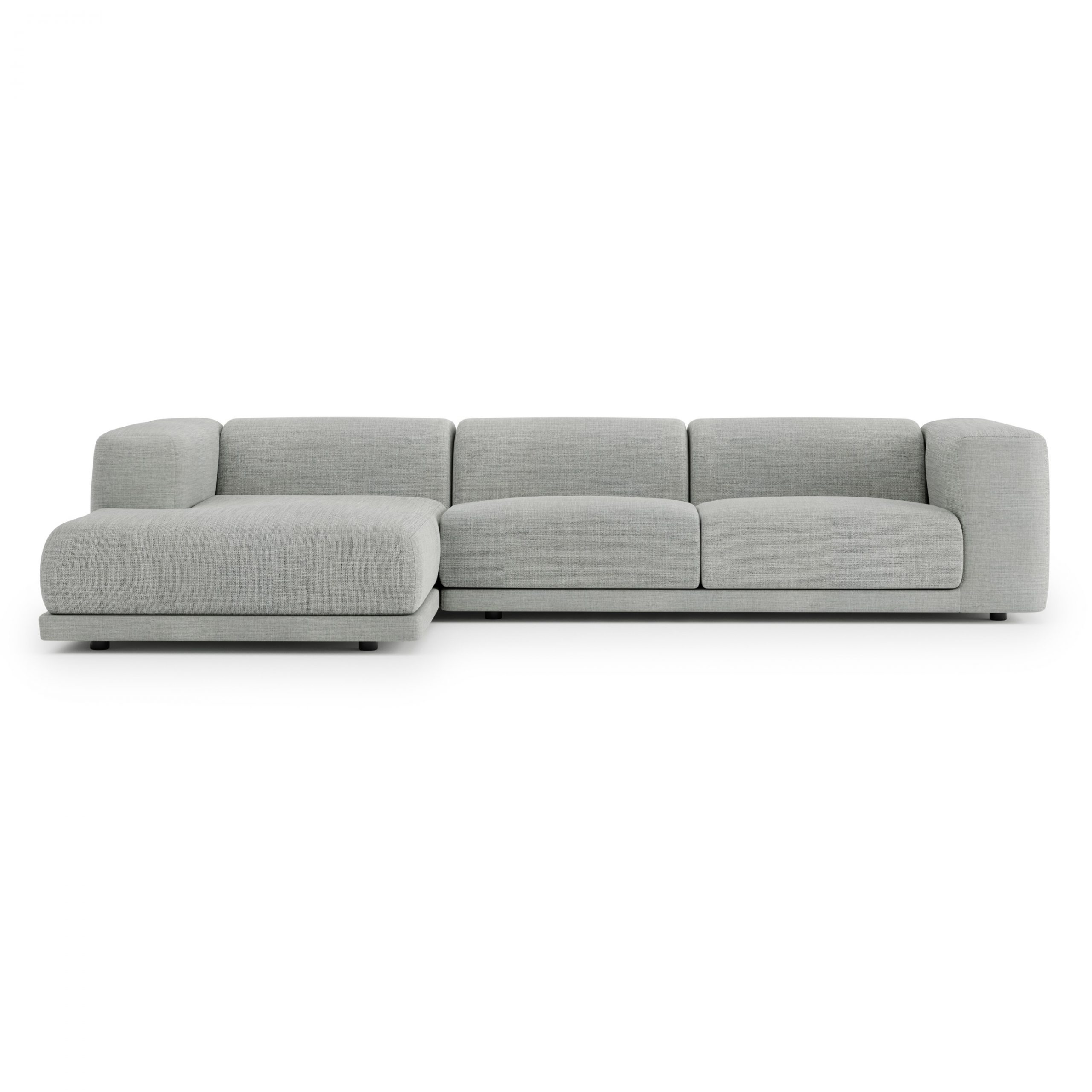 Jimmie 3 Piece Sectionals Seating Group With Cushions In Recent Case Furniture Kelston Sectional Sofa Lh Tundra Fabric (Gallery 17 of 25)