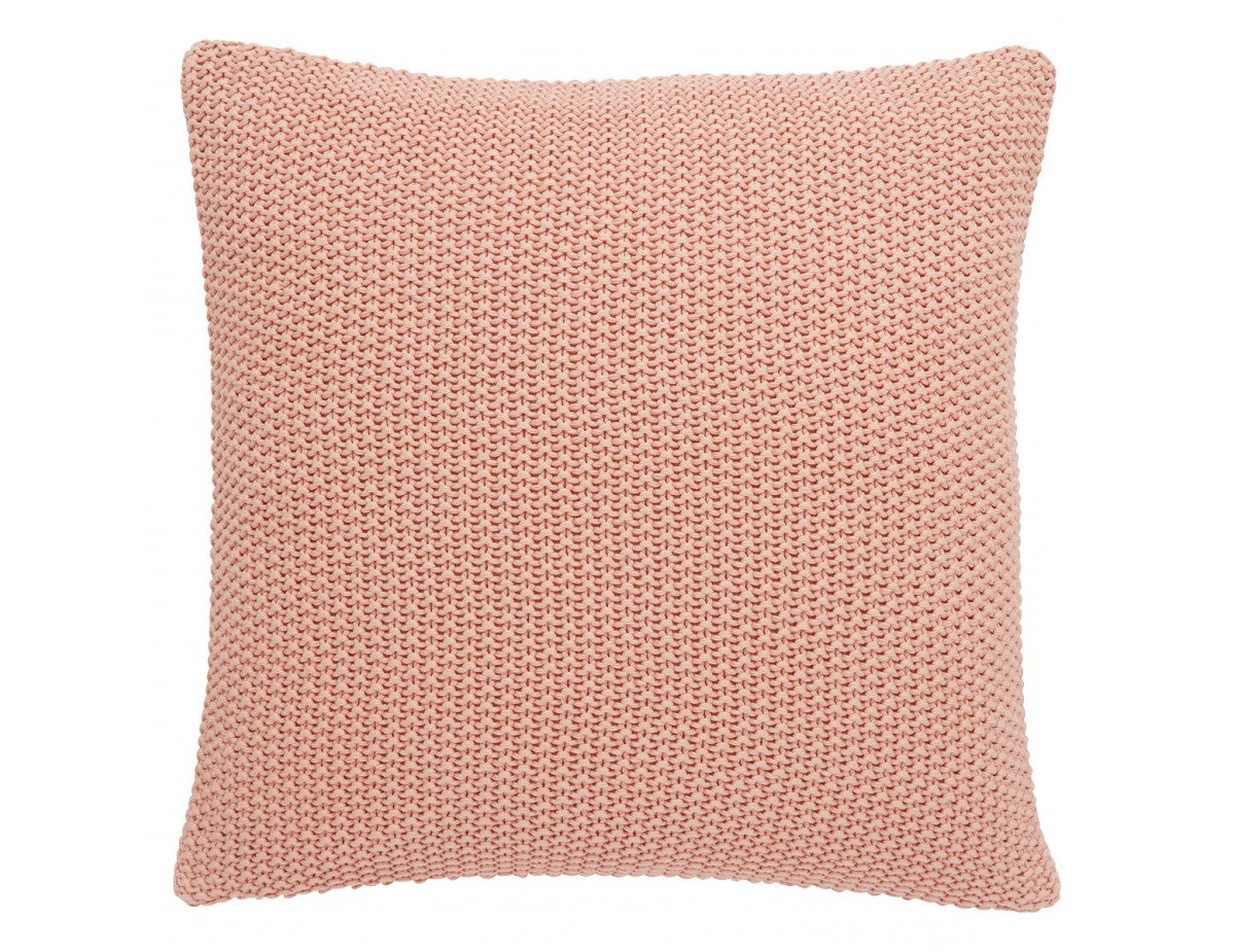 Latest Paloma Pink Knitted Cotton Cushion 45 X 45Cm For Paloma Sofas With Cushions (Gallery 22 of 25)