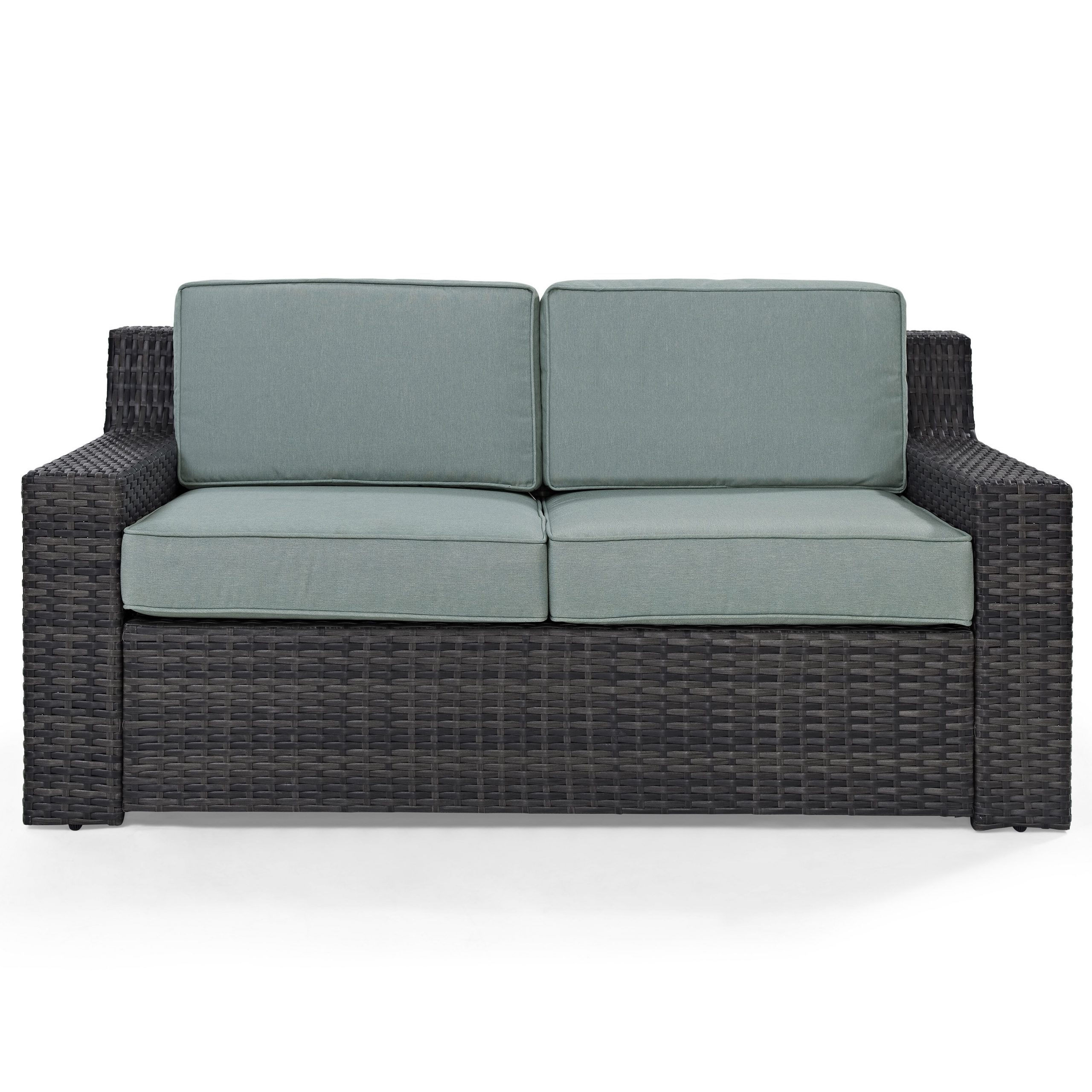 Linwood Loveseat With Cushions Within Well Known Furst Outdoor Loveseats With Cushions (View 10 of 25)