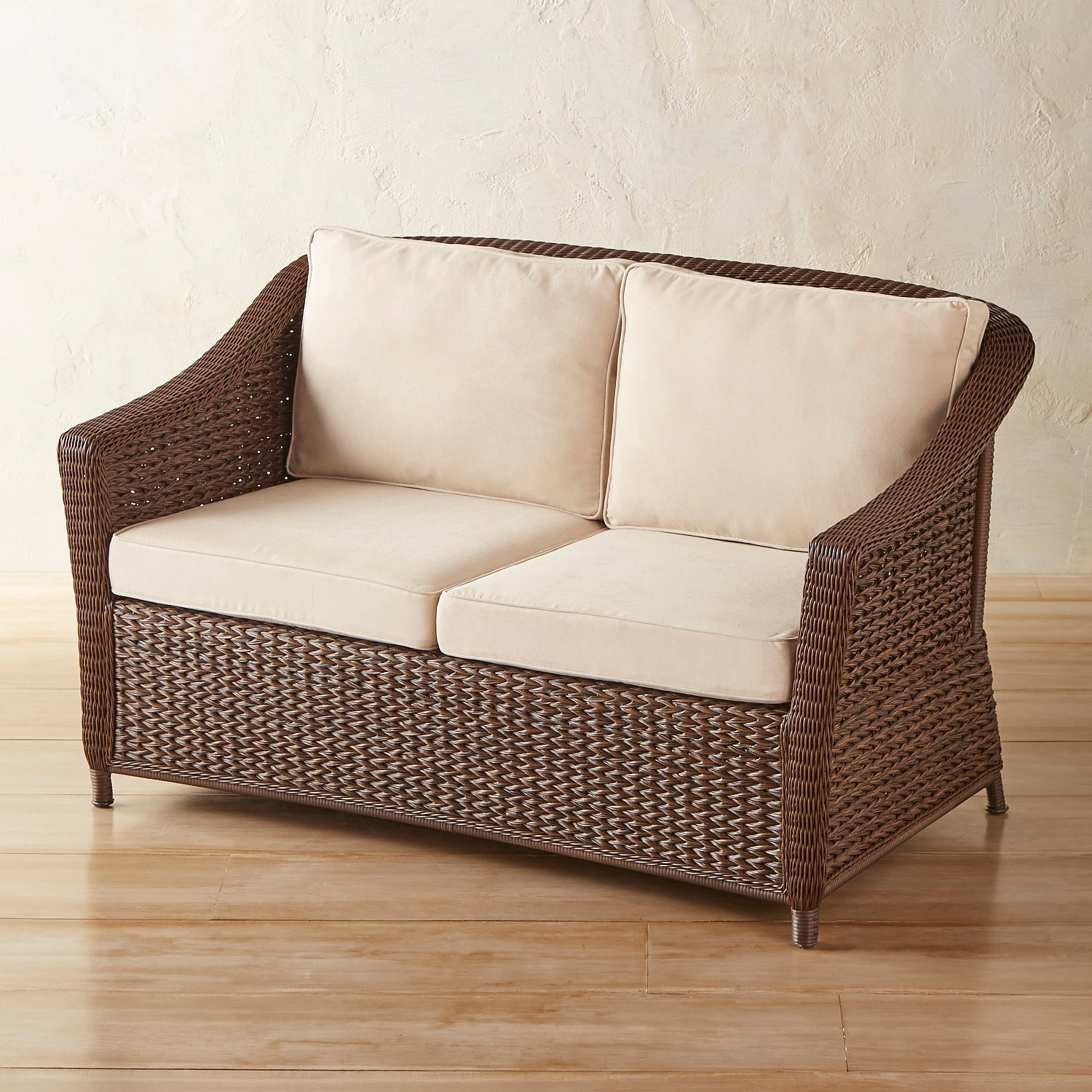 Maia Russet Settee (Gallery 25 of 25)