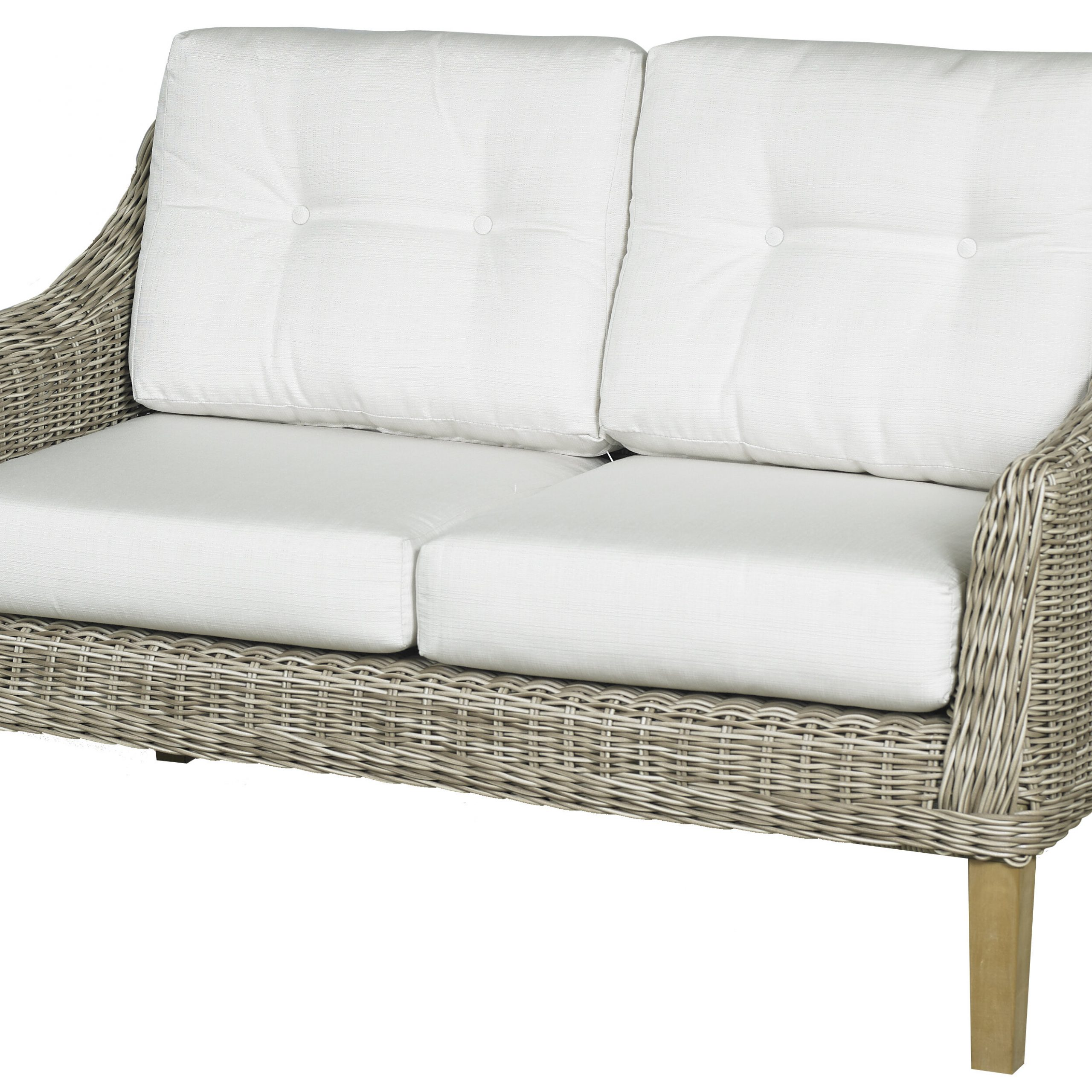 Most Current Wakeland Wicker Loveseats With Cushions Inside Forever Patio Carlisle Loveseat With Cushions (Gallery 22 of 25)