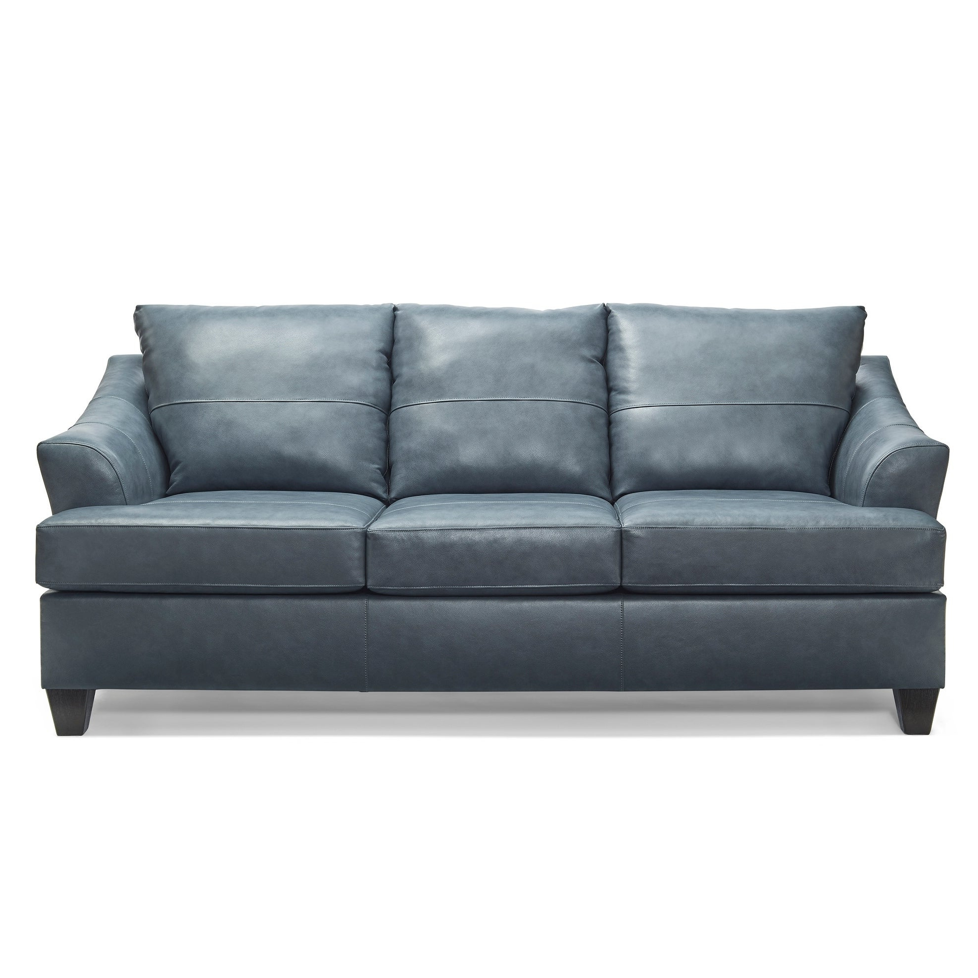 Most Popular Judith Top Grain Leather Sofa Intended For Landis Loveseats With Cushions (View 11 of 25)