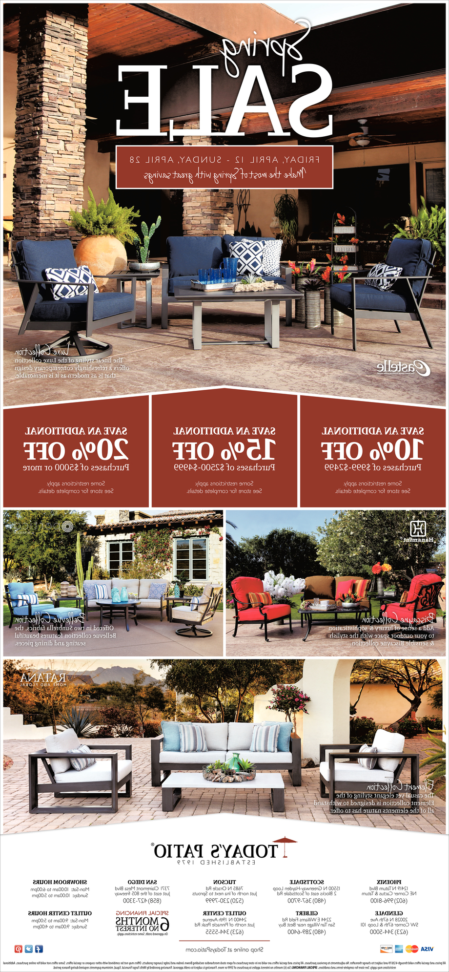 Most Recent Spring Sale, Today's Patio Furniture And Decor, San Diego, Ca In Menifee Patio Sofas With Cushions (View 24 of 25)