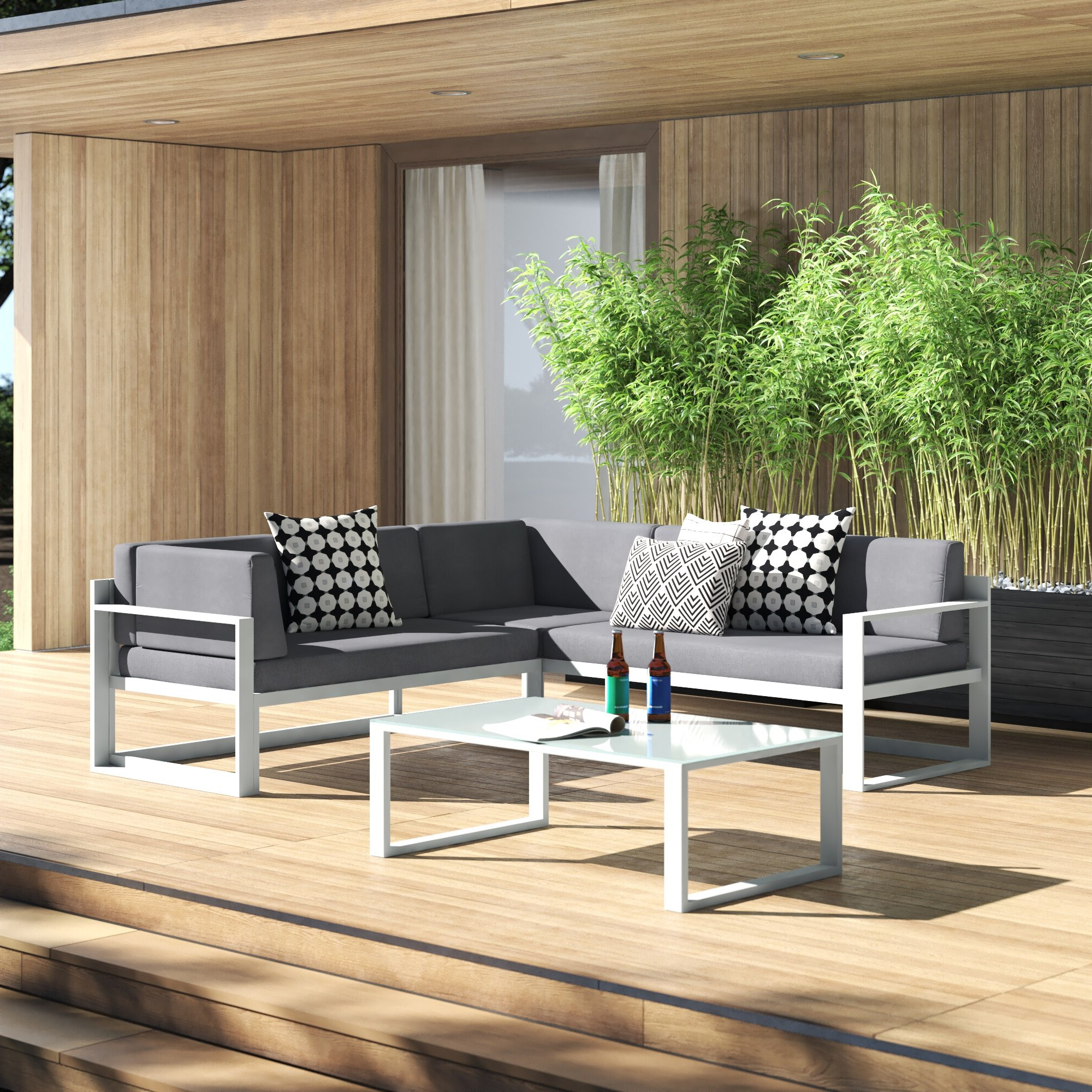 Most Up To Date Jimmie 3 Piece Sectional Seating Group With Cushions Within Jimmie 3 Piece Sectionals Seating Group With Cushions (Gallery 3 of 25)