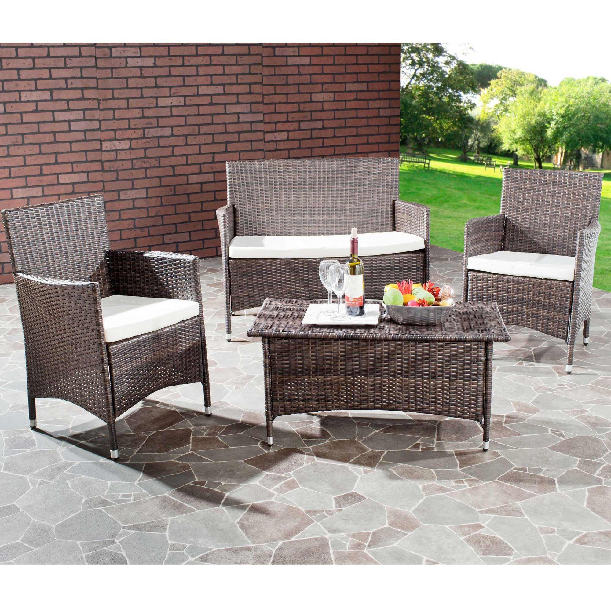 Mysterious Throughout Ostrowski Patio Sectionals With Cushions (View 10 of 25)
