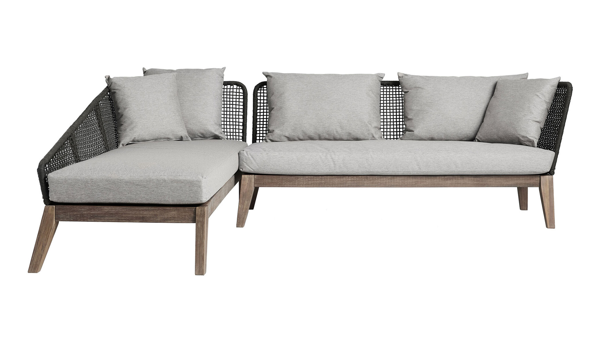 Netta Patio Sectional With Cushion (View 13 of 25)